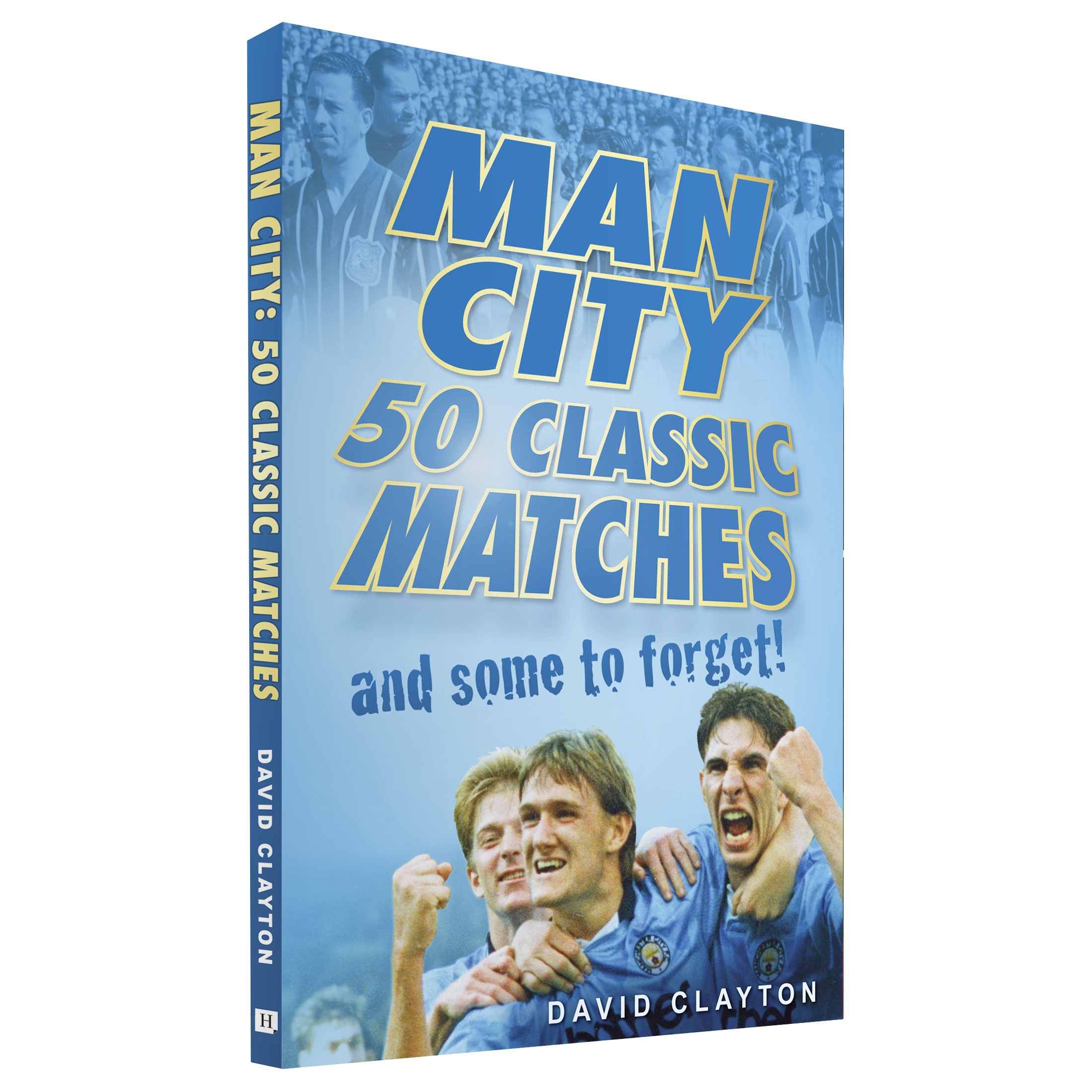 Manchester City 50 Classic Matches Book