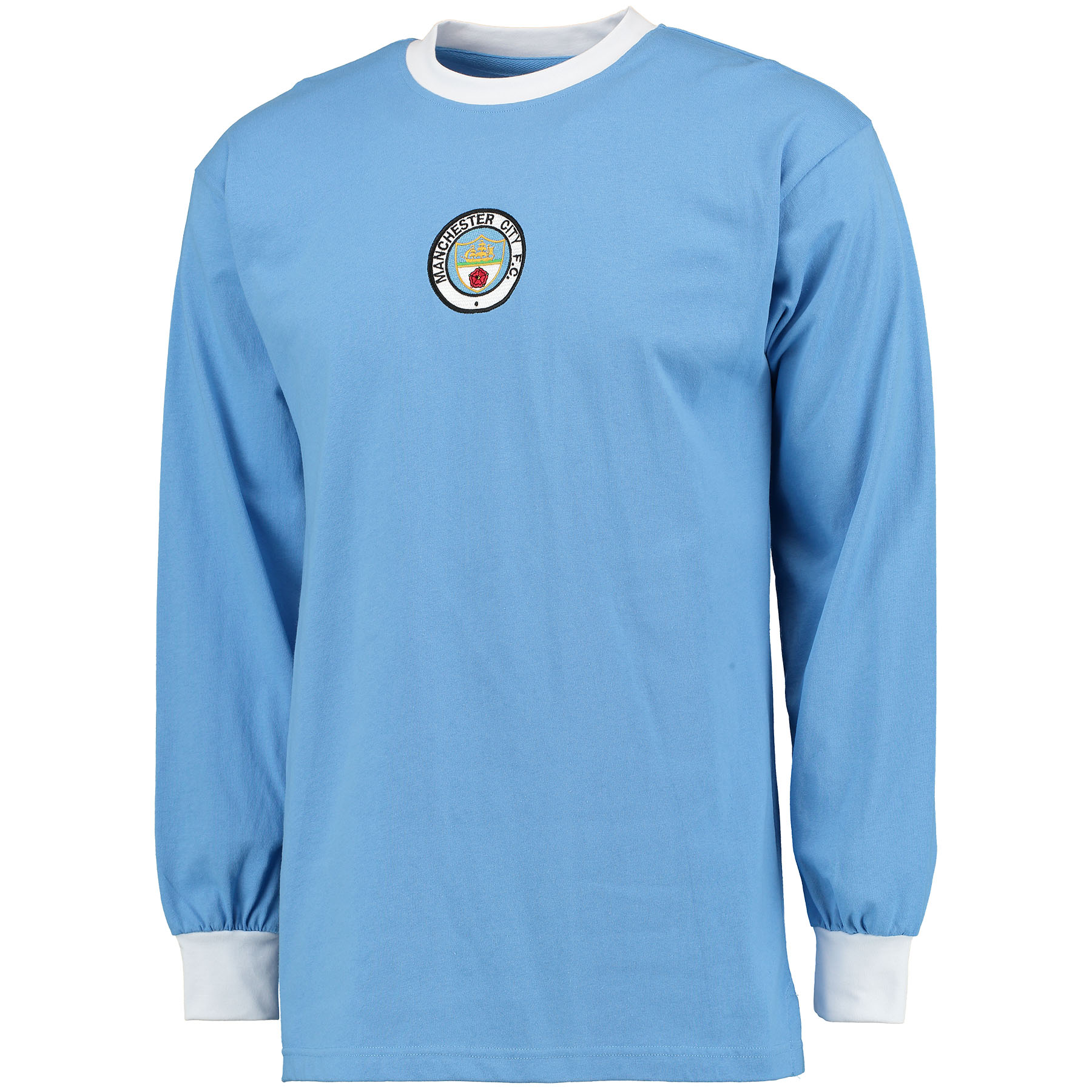 Manchester City 1972 Long Sleeve Home Shirt
