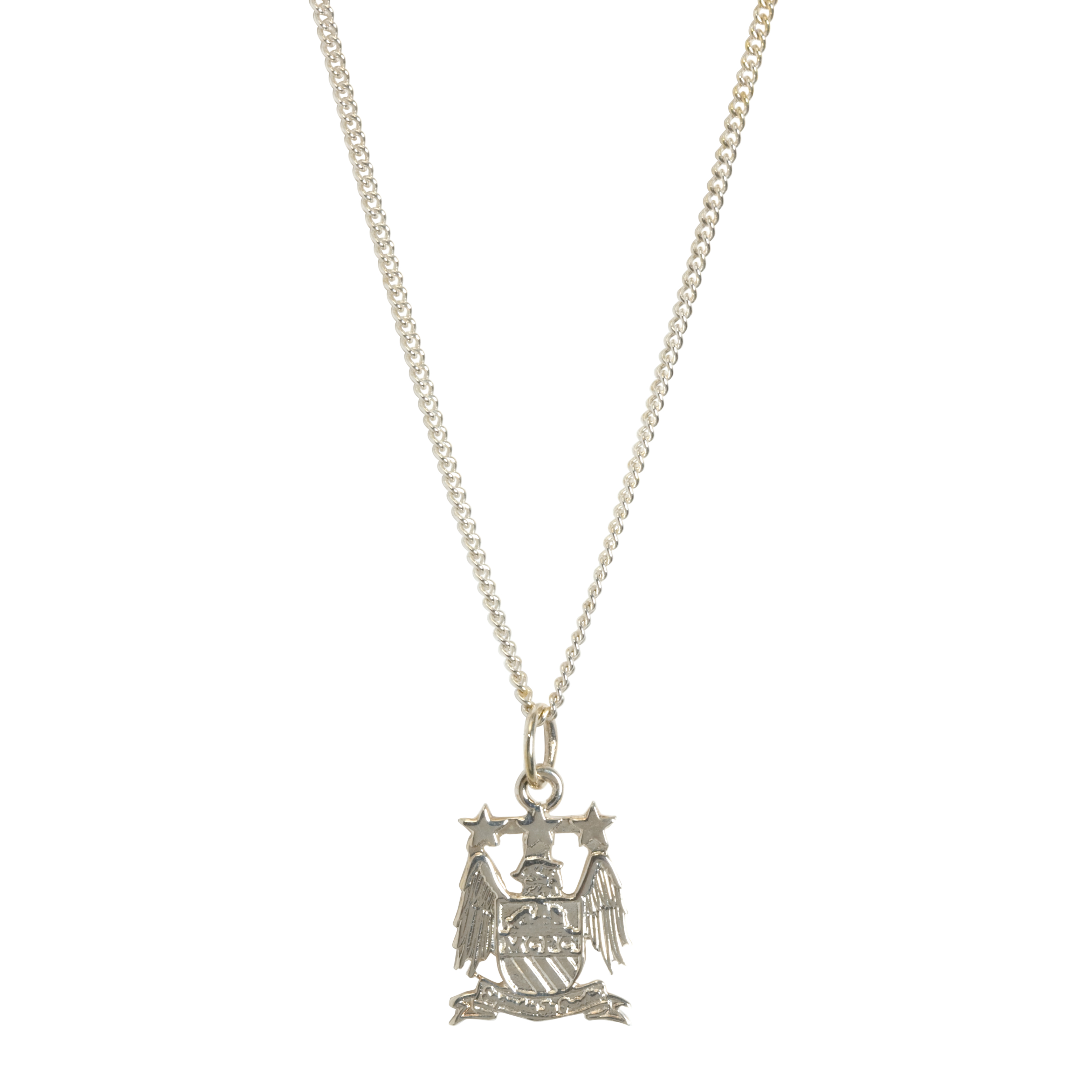 Manchester City Small Crest Pendant and Chain