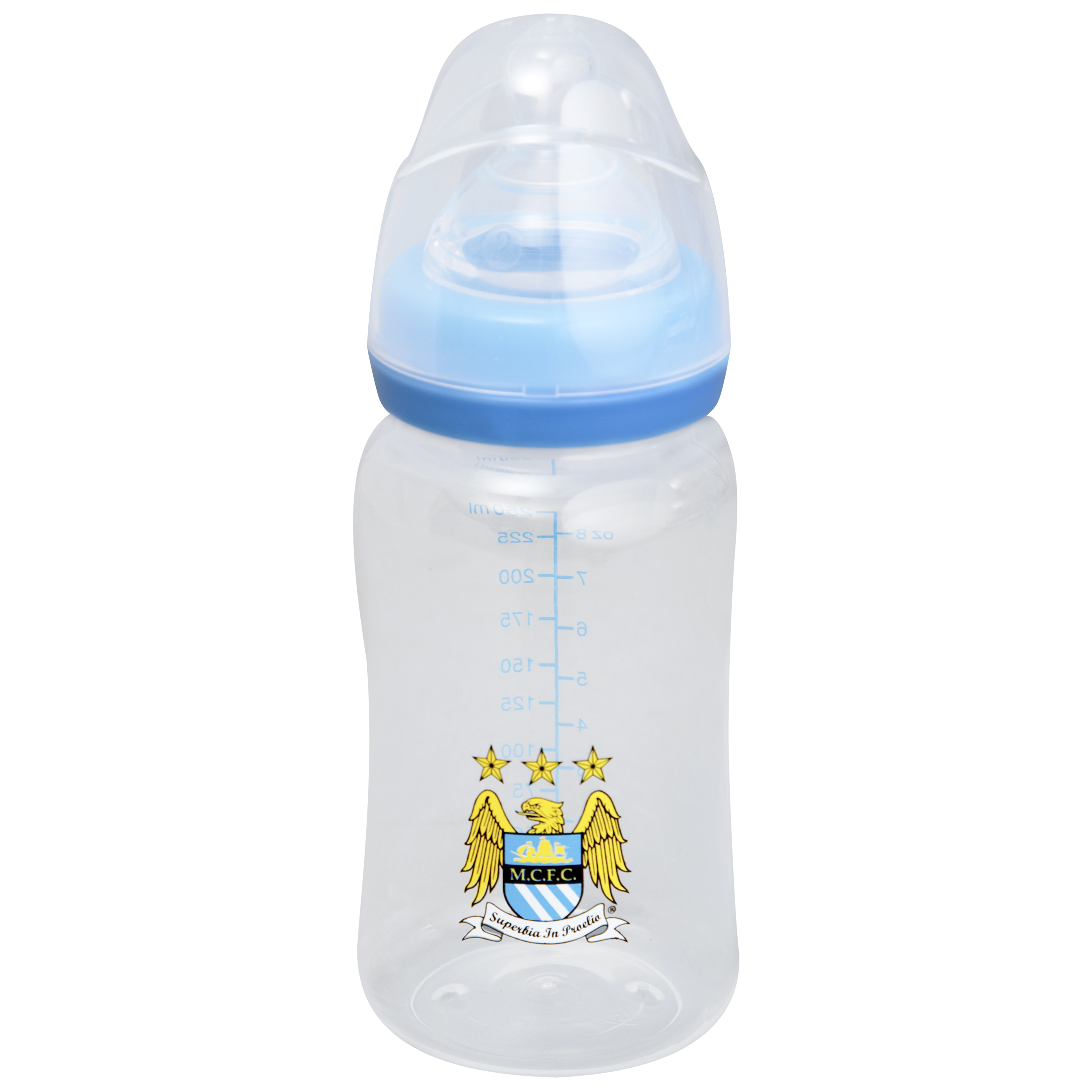 Manchester City Rostherne 250Ml Feeding Bottle