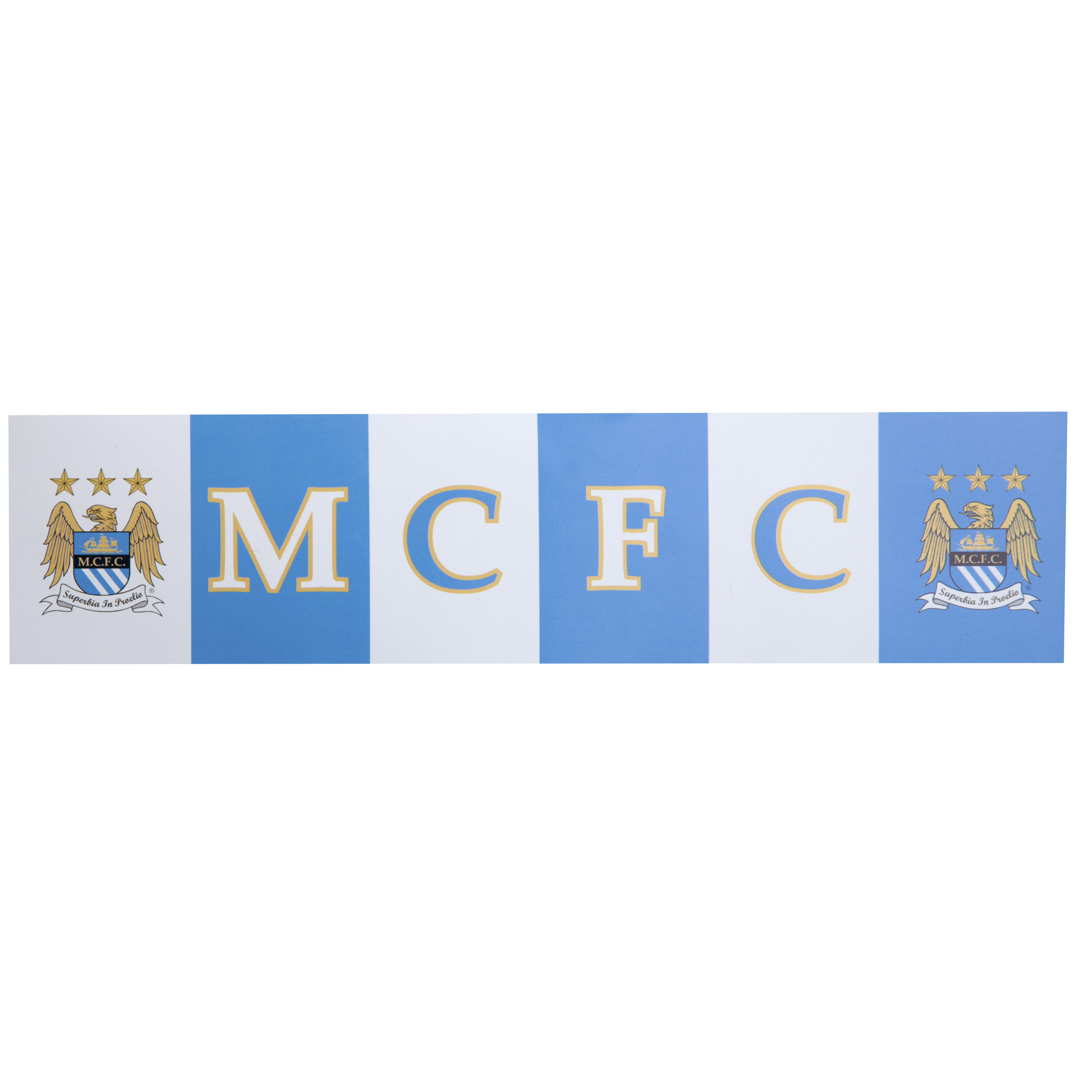 Manchester City Pinewood Car Sticker