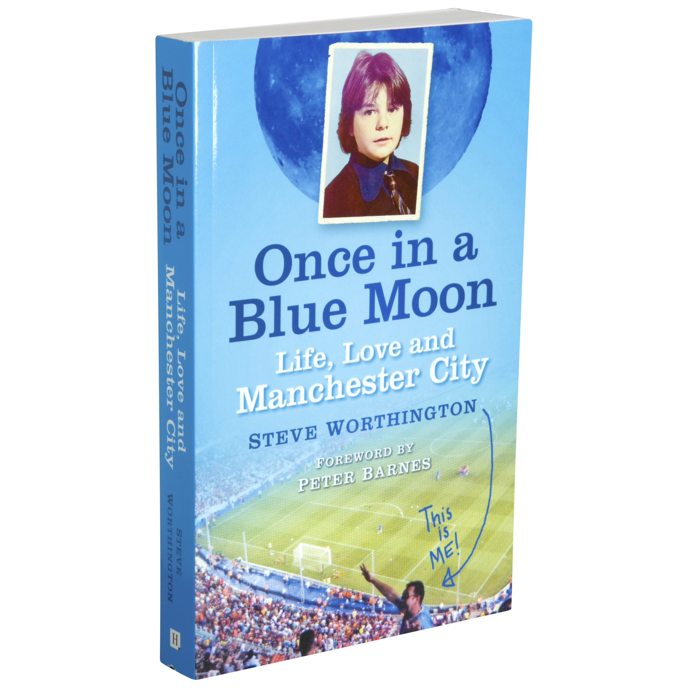 Manchester City Once In A Blue Moon Book