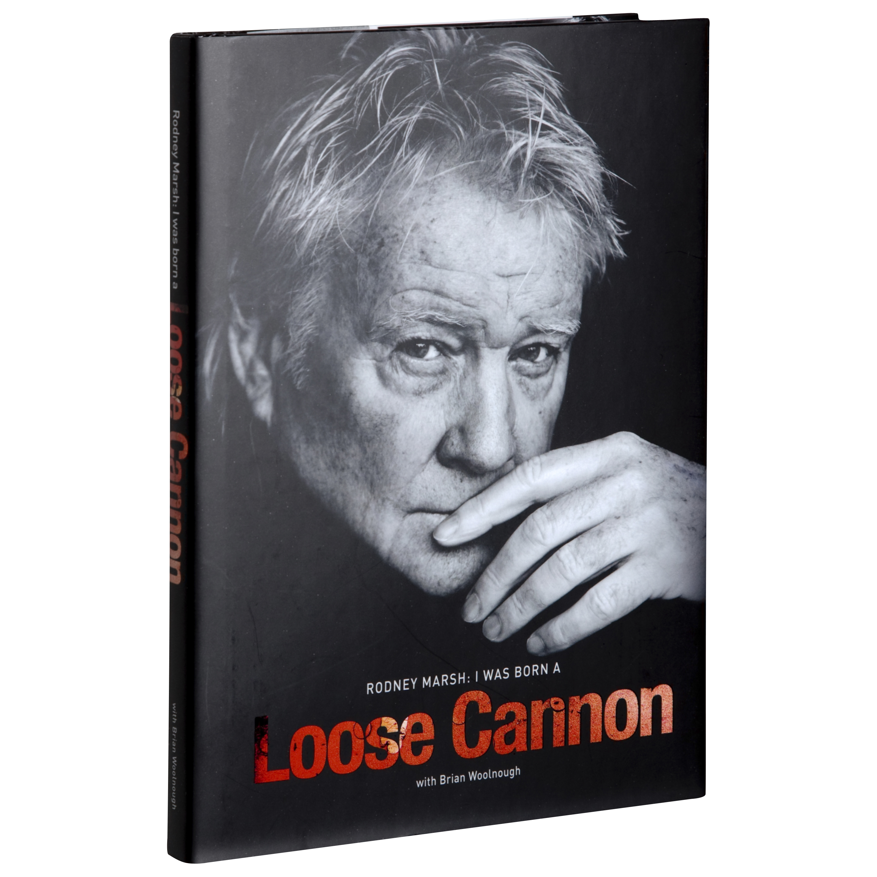 Manchester City Rodney Marsh - I Was Born a Loose Cannon Book (Hardback)