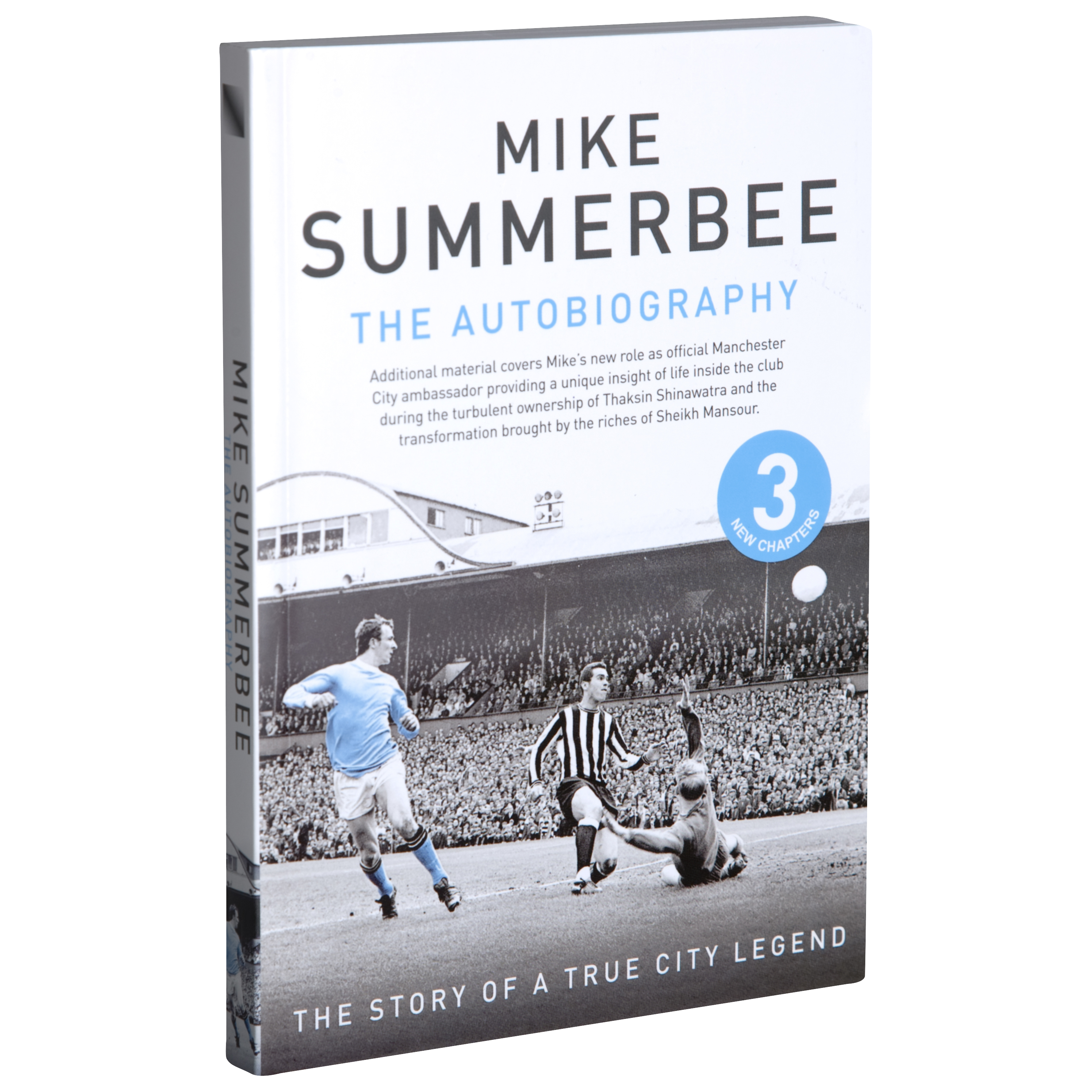 Manchester City Mike Summerbee - The Autobiography (Paperback)