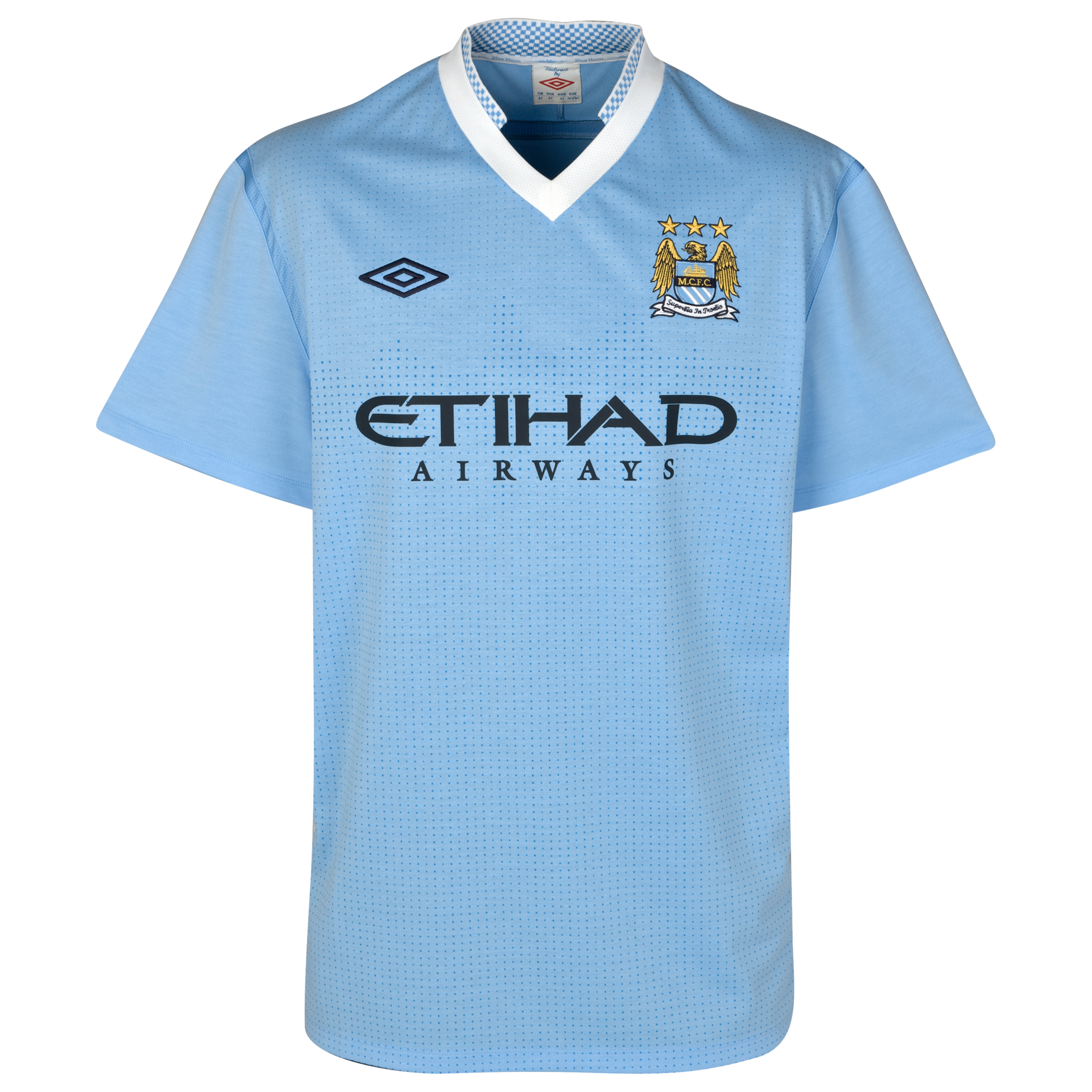 Manchester City Home Shirt 2011/12