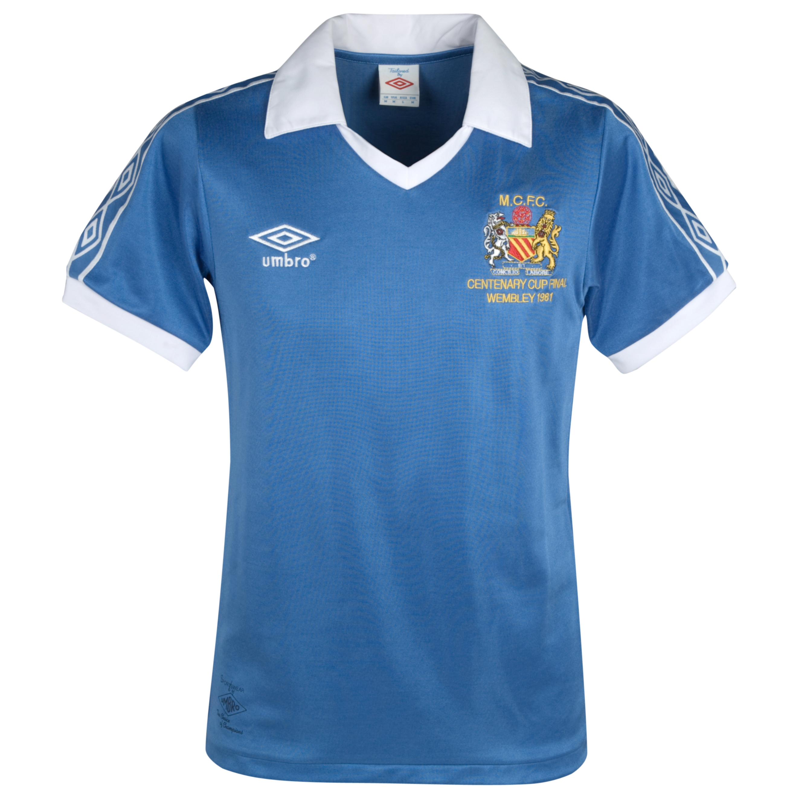Manchester City 1981 Centenary FA Cup Final Shirt - Regatta/White