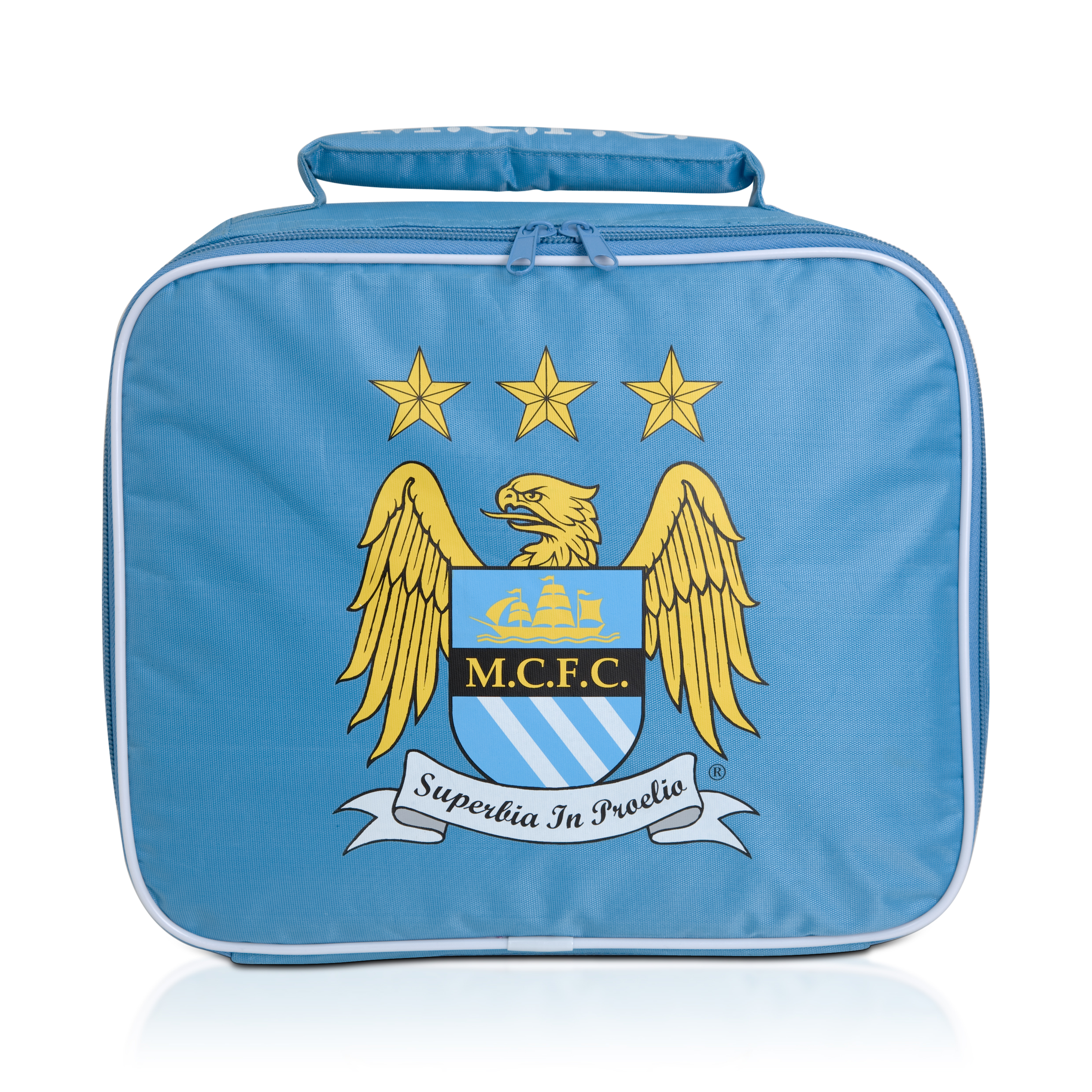 Manchester City Insulated Lunch Bag - Sky