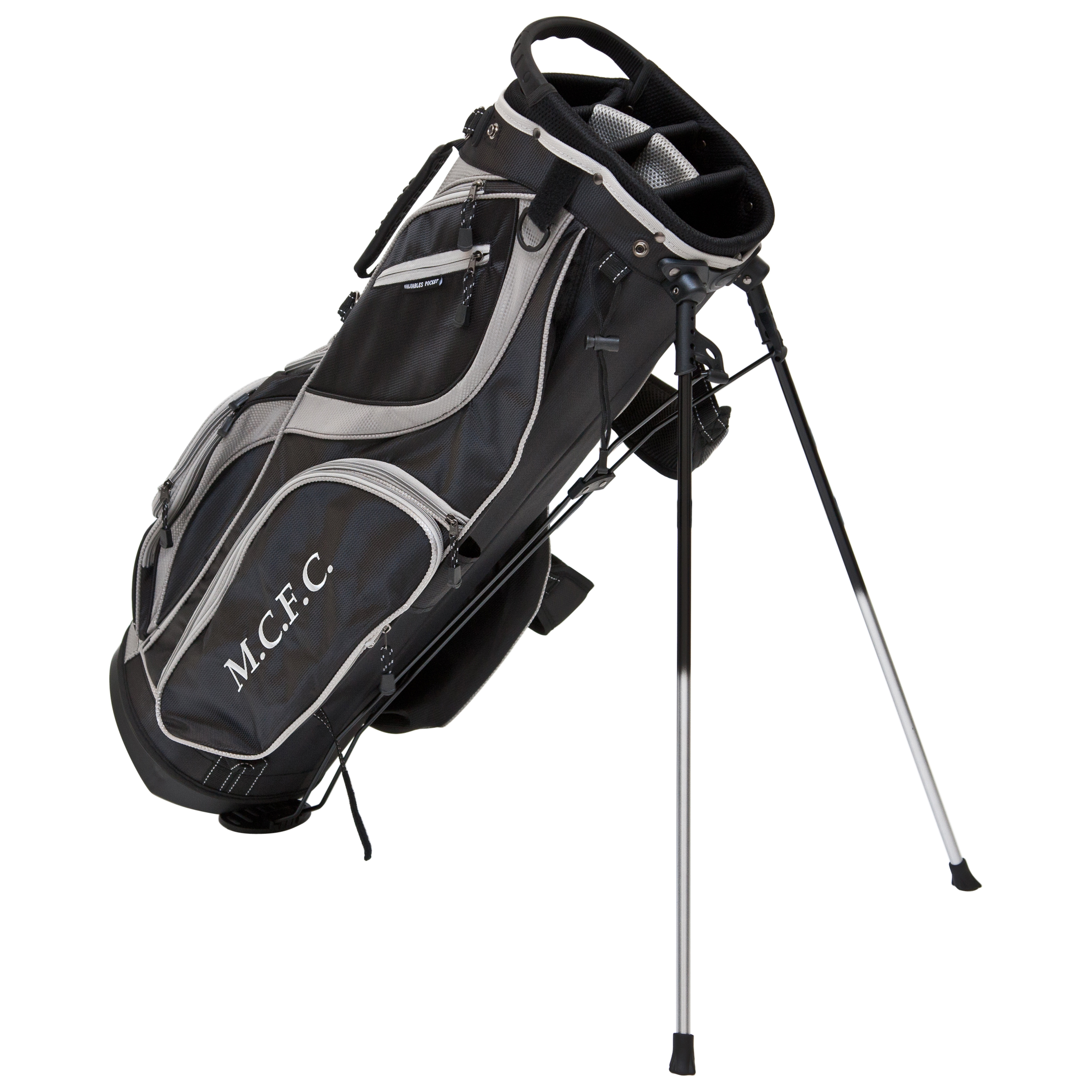 Manchester City Executive Golf Stand Bag - Black/Silver