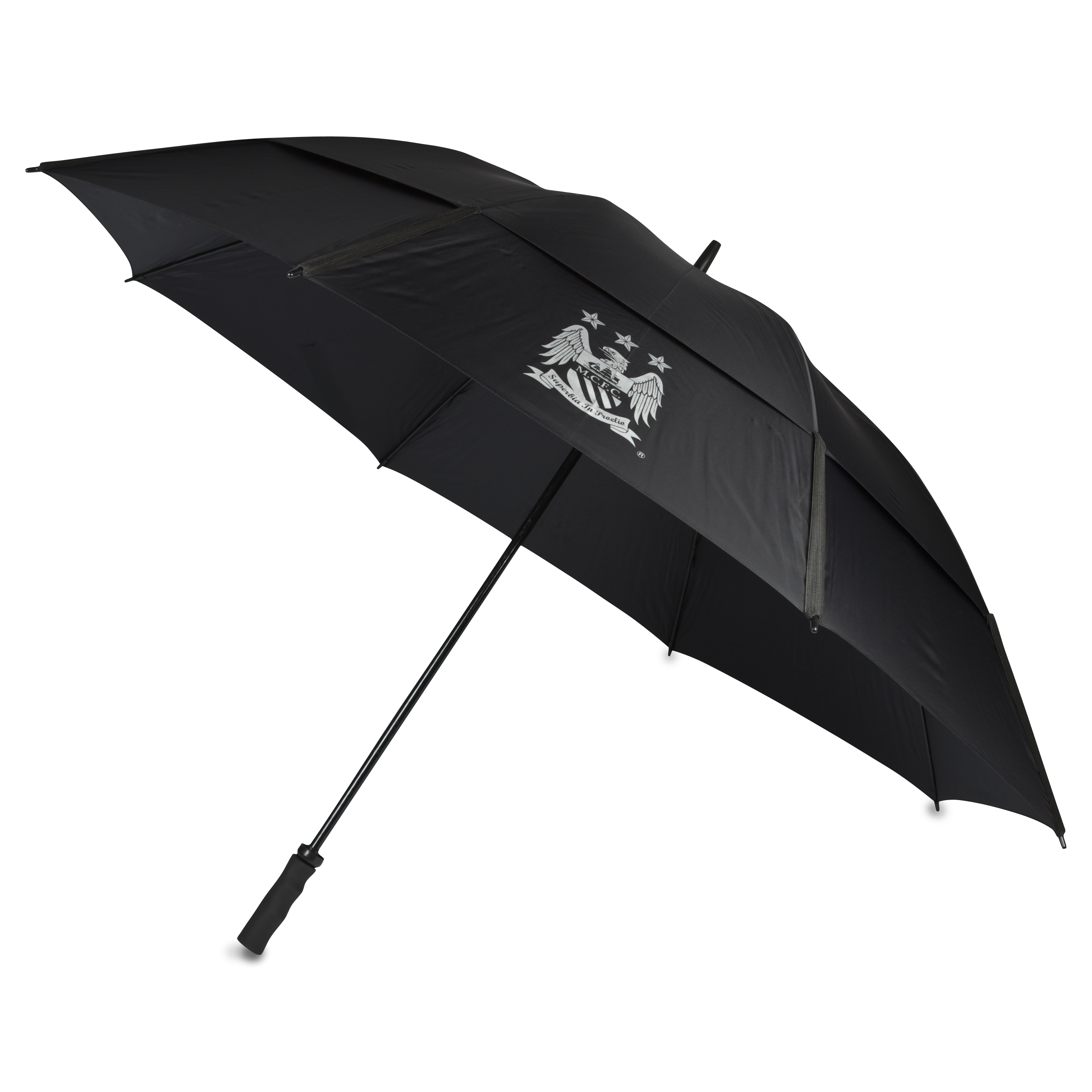 Manchester City Executive Double Canopy Windproof Golf Umbrella