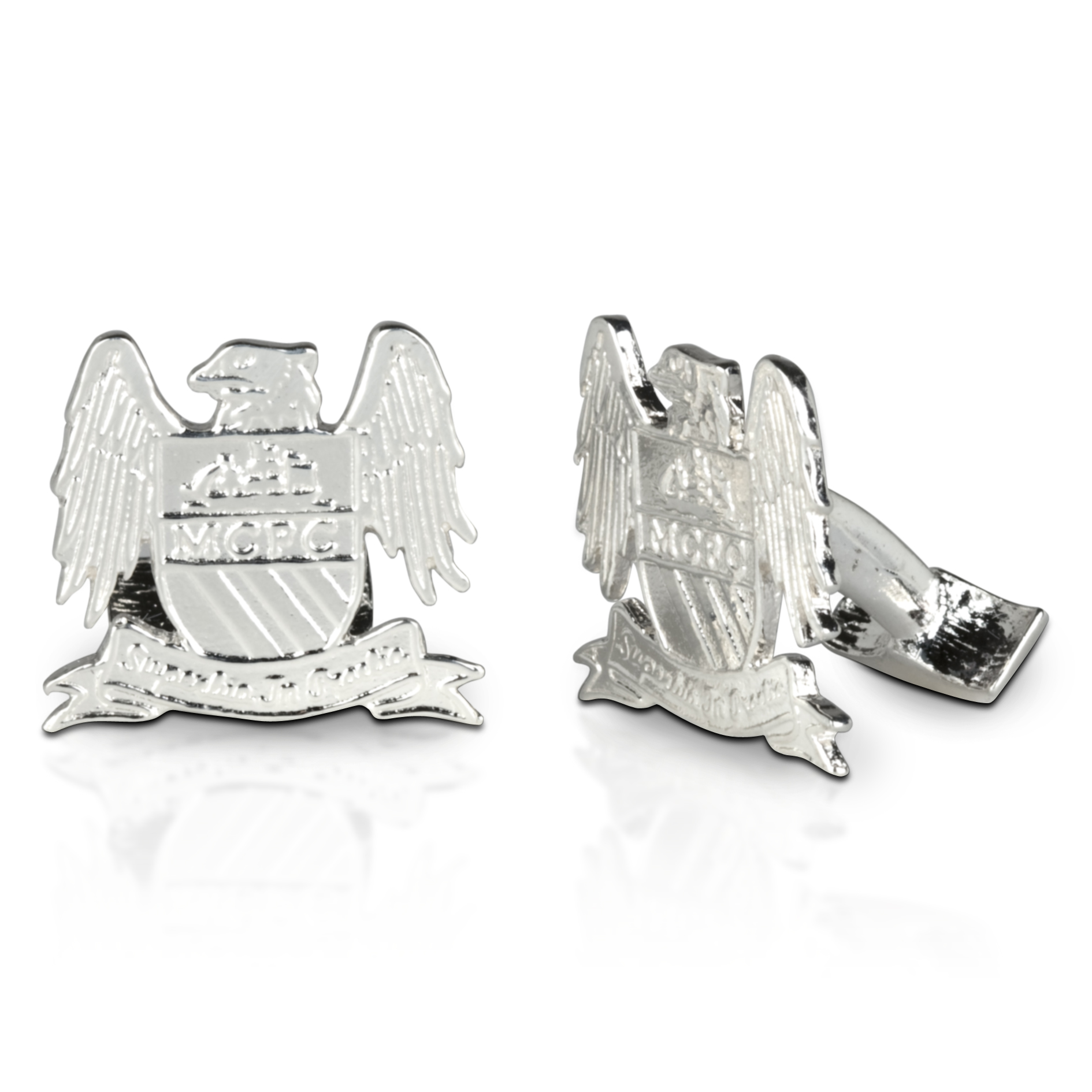 Manchester City Sterling Silver Cufflinks
