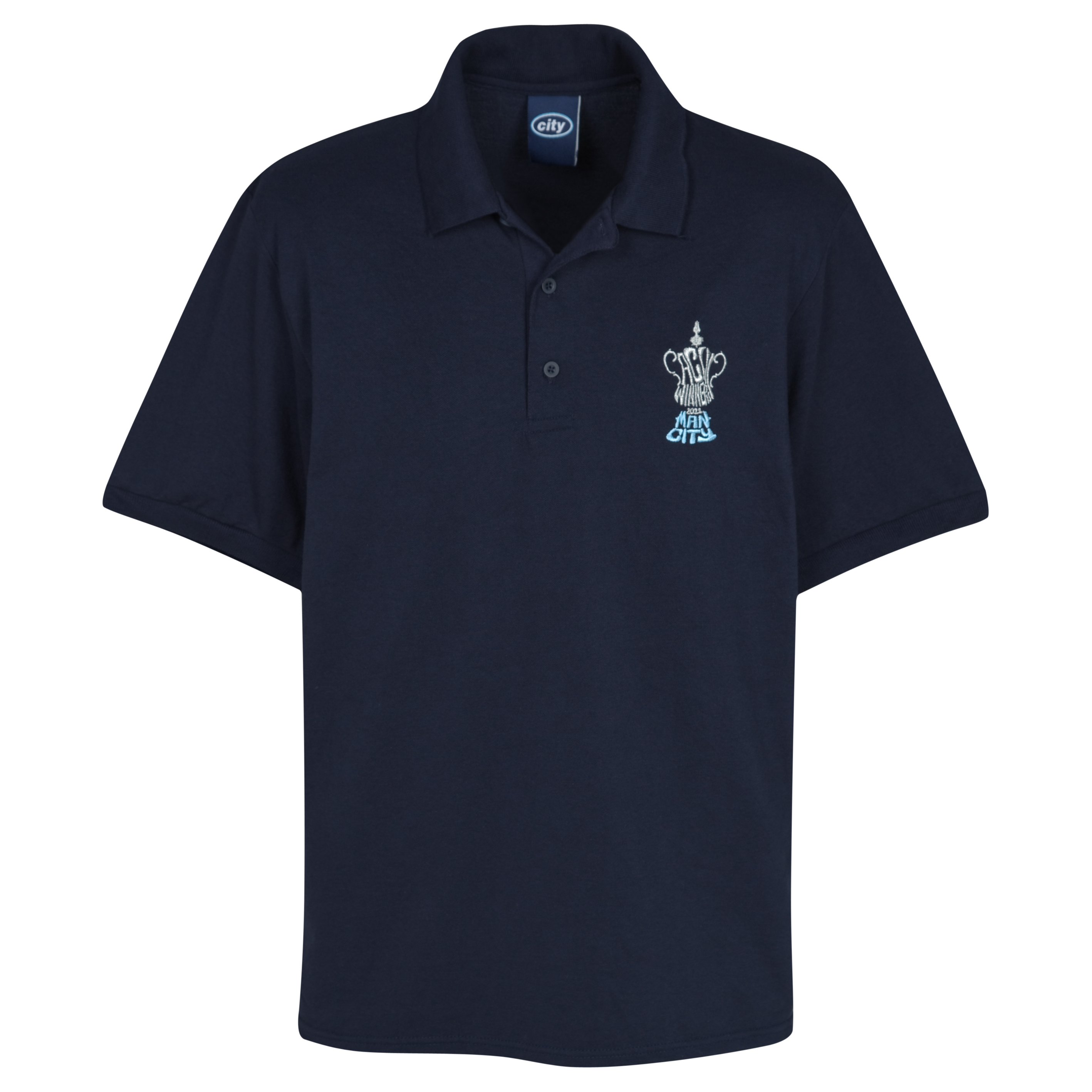 Manchester City The FA Cup Winners Polo - Navy