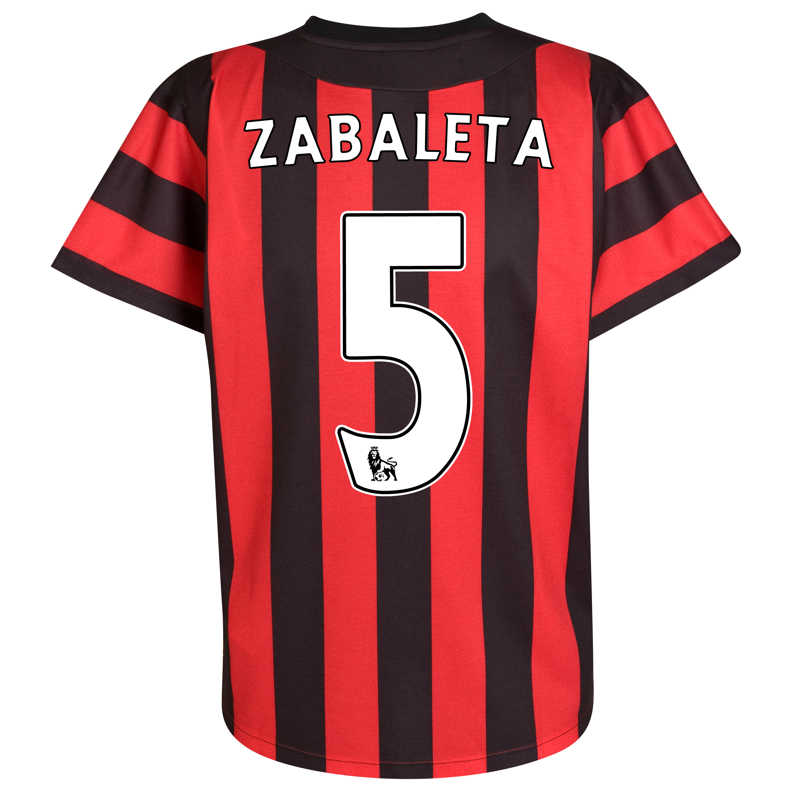 Manchester City Away Shirt  2011/12 with Zabaleta 5 printing