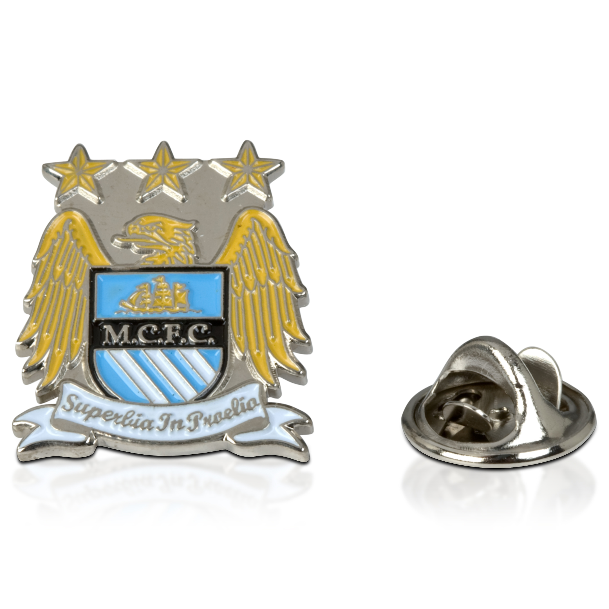 Manchester City Colour Crest Badge