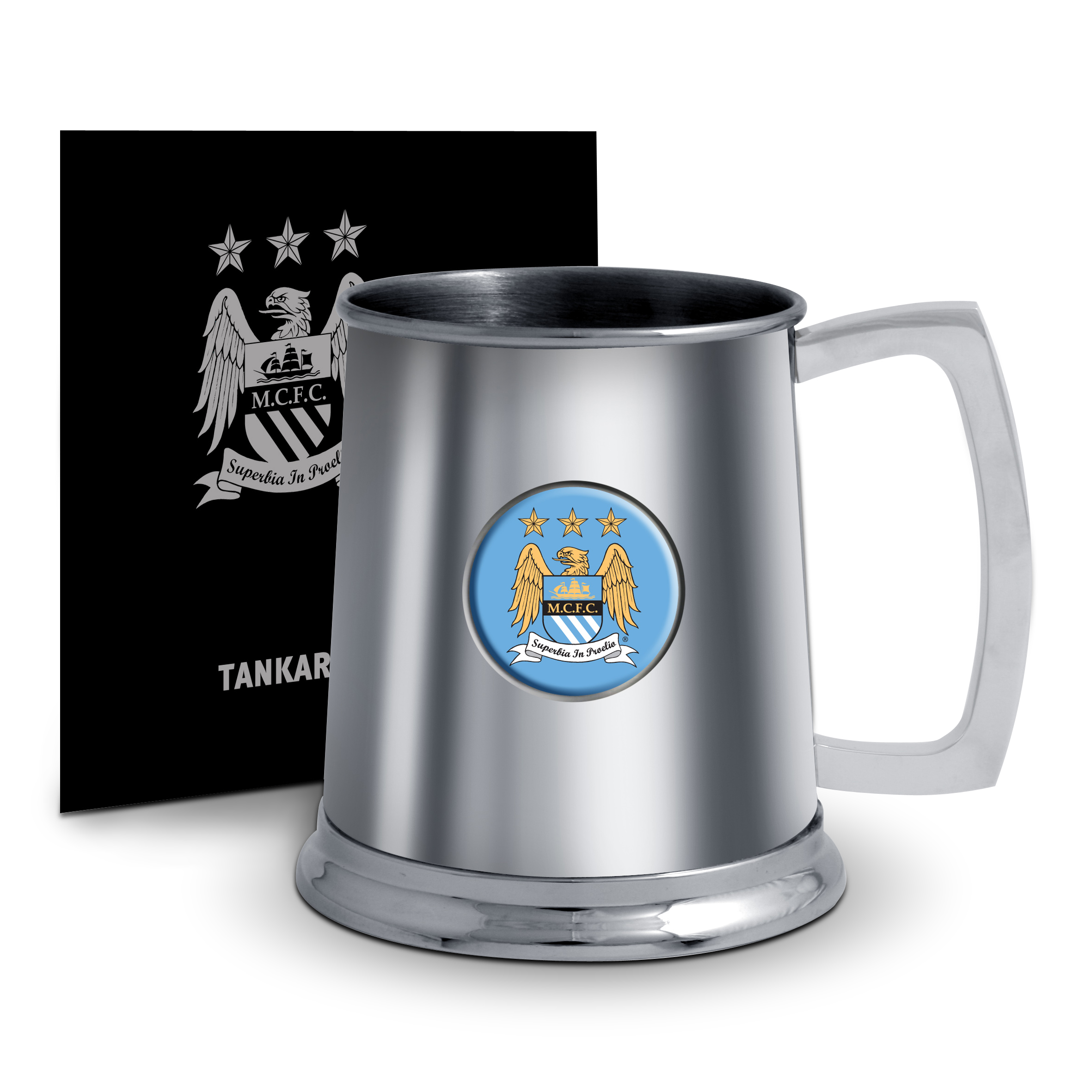 Manchester City Tankard - Stainless Steel