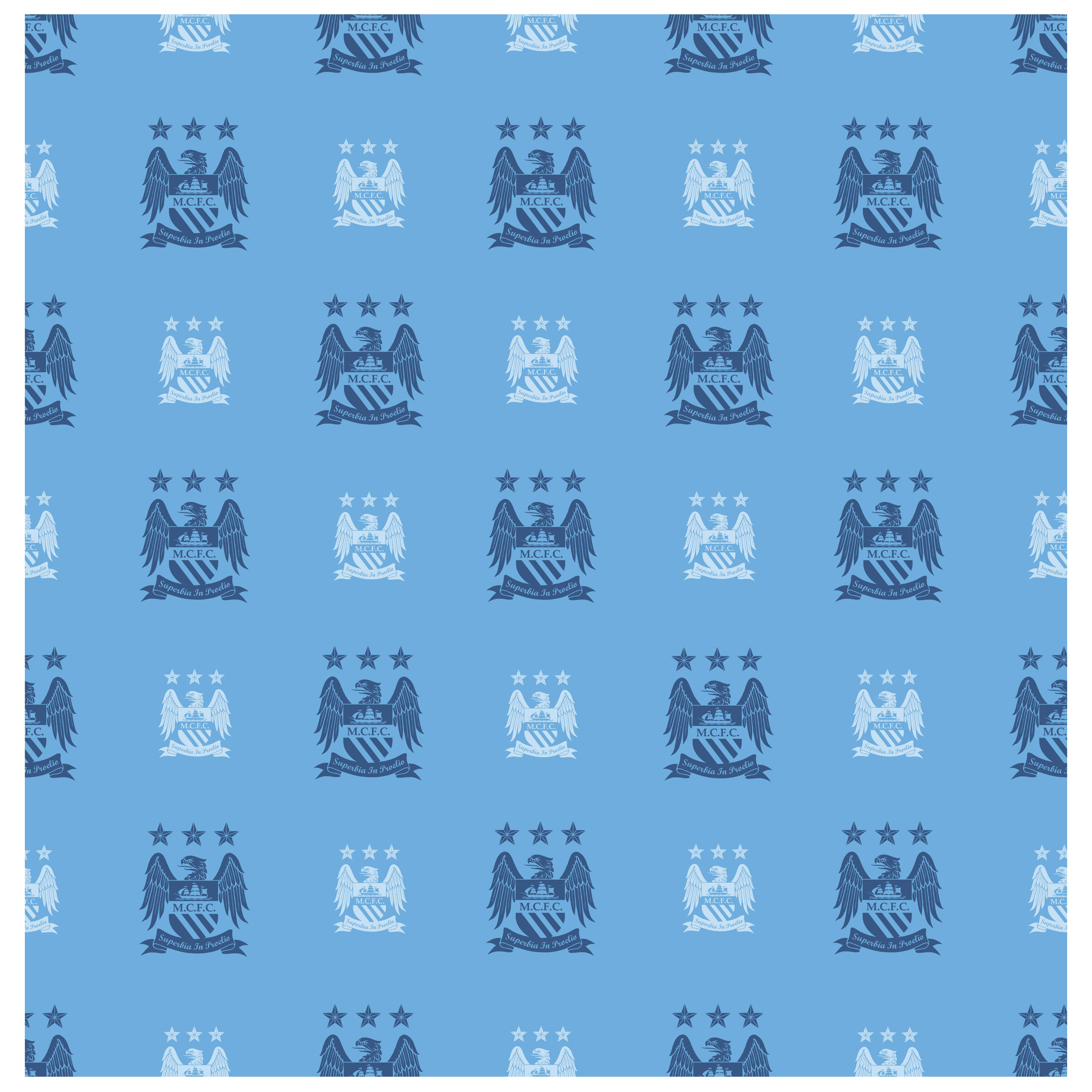 Manchester City Crest Wallpaper