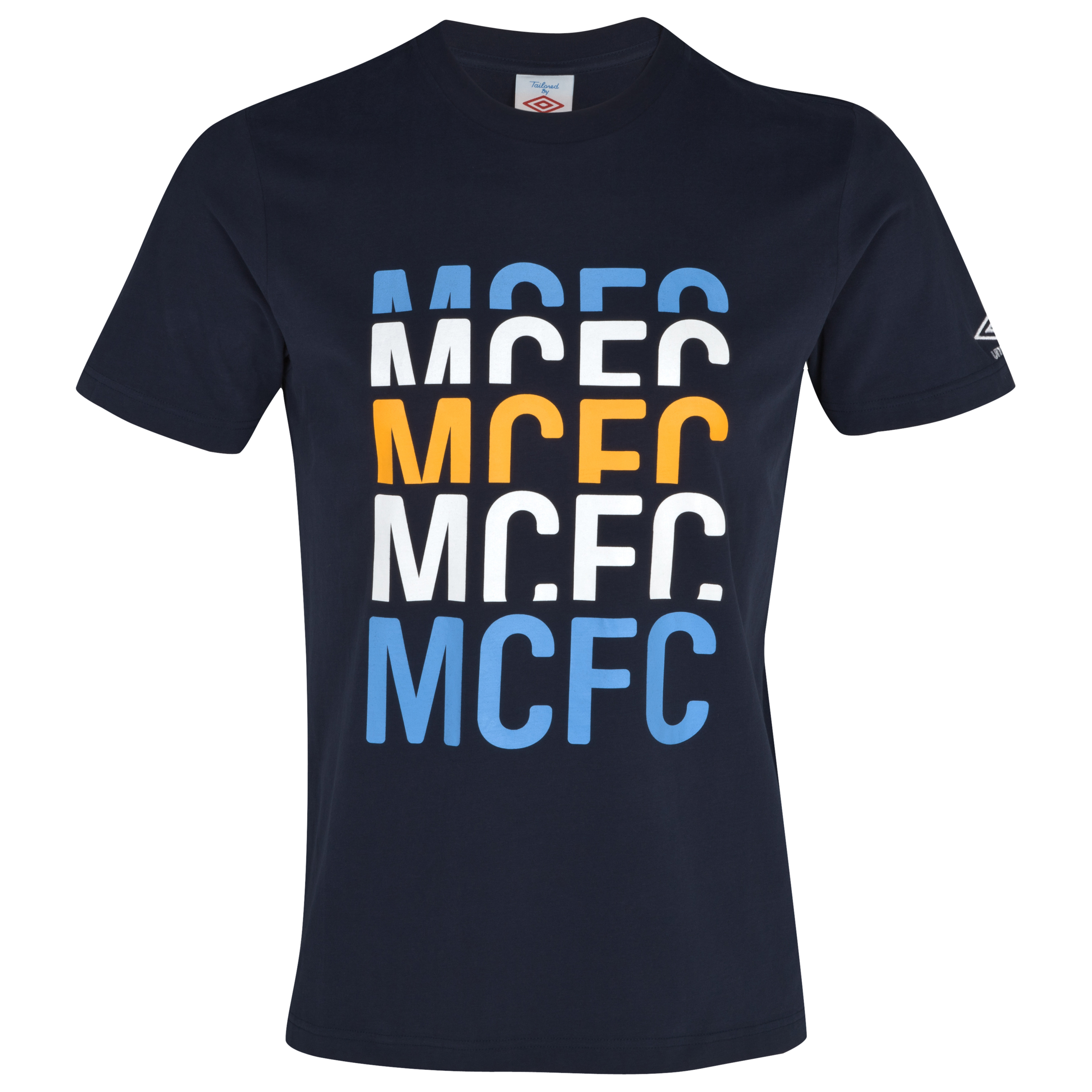 Manchester City WTC Graphic T-Shirt - Dark Navy