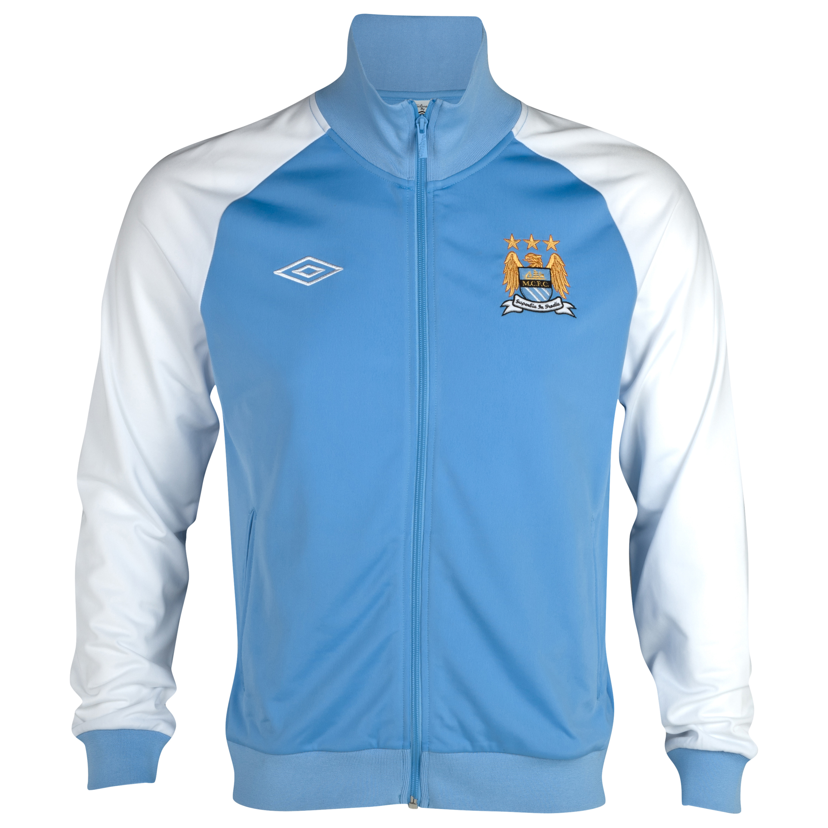 Manchester City WTC Track Jacket - Vista Blue / White