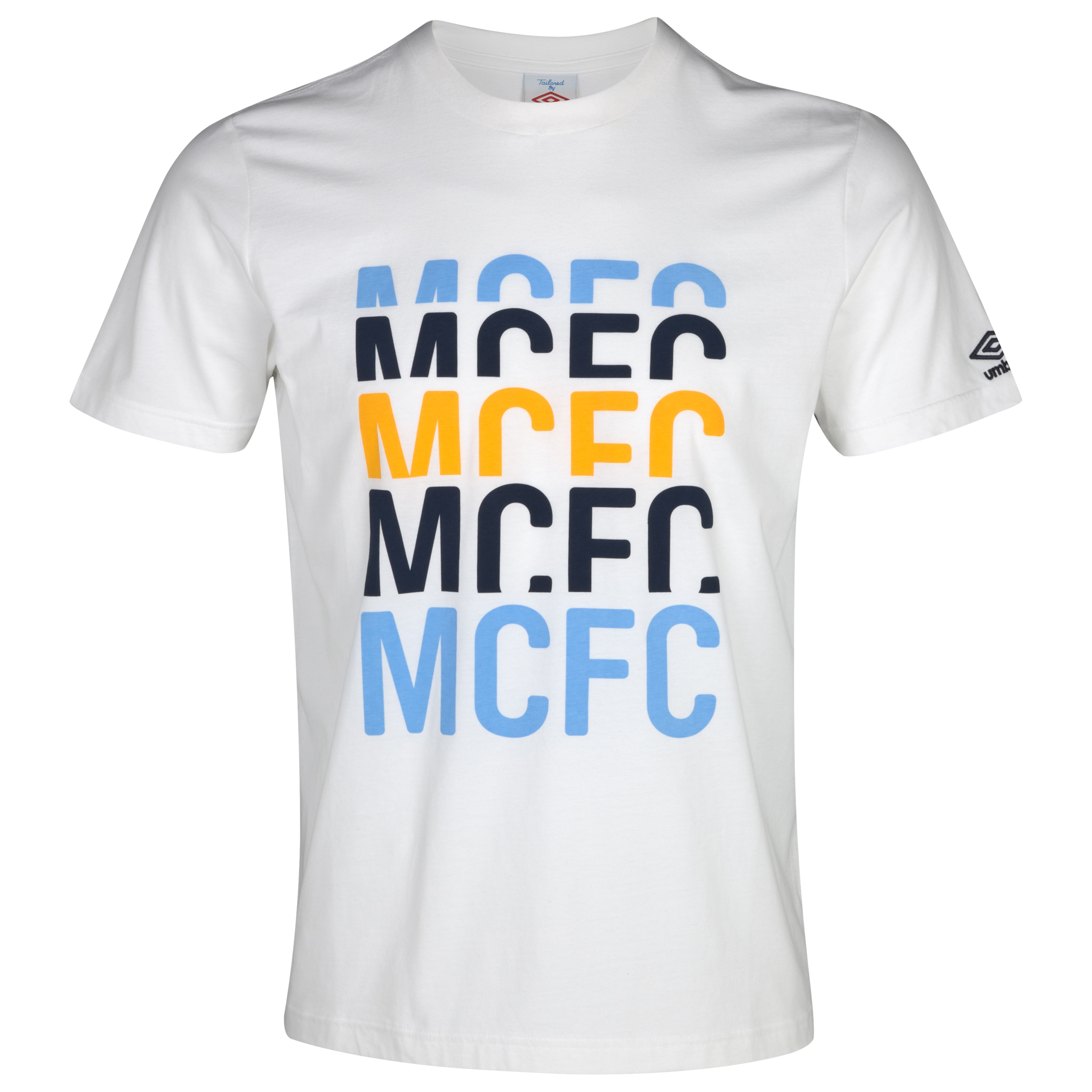 Manchester City WTC Graphic T-Shirt - White