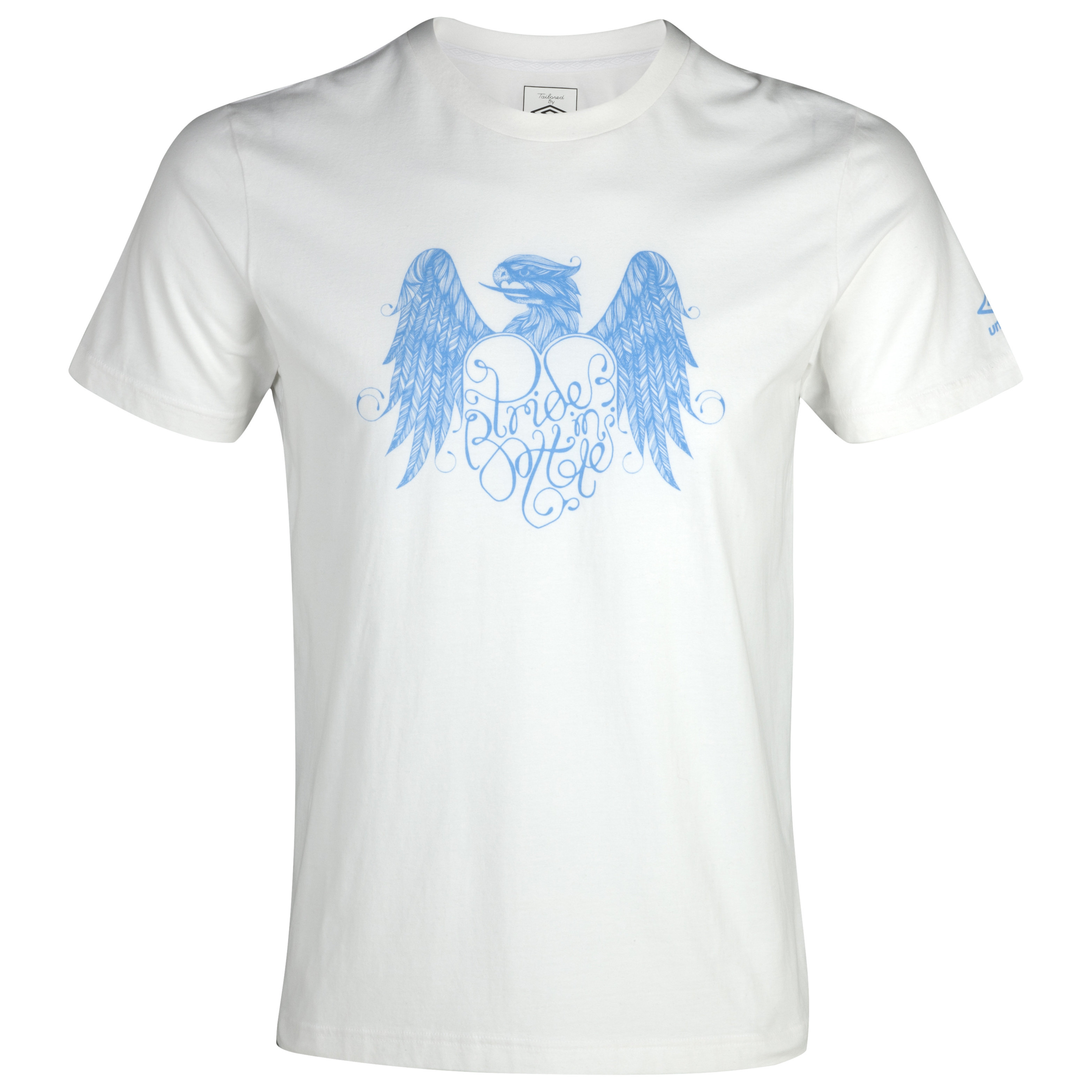 Manchester City Graphic Pride in Battle T-Shirt - White