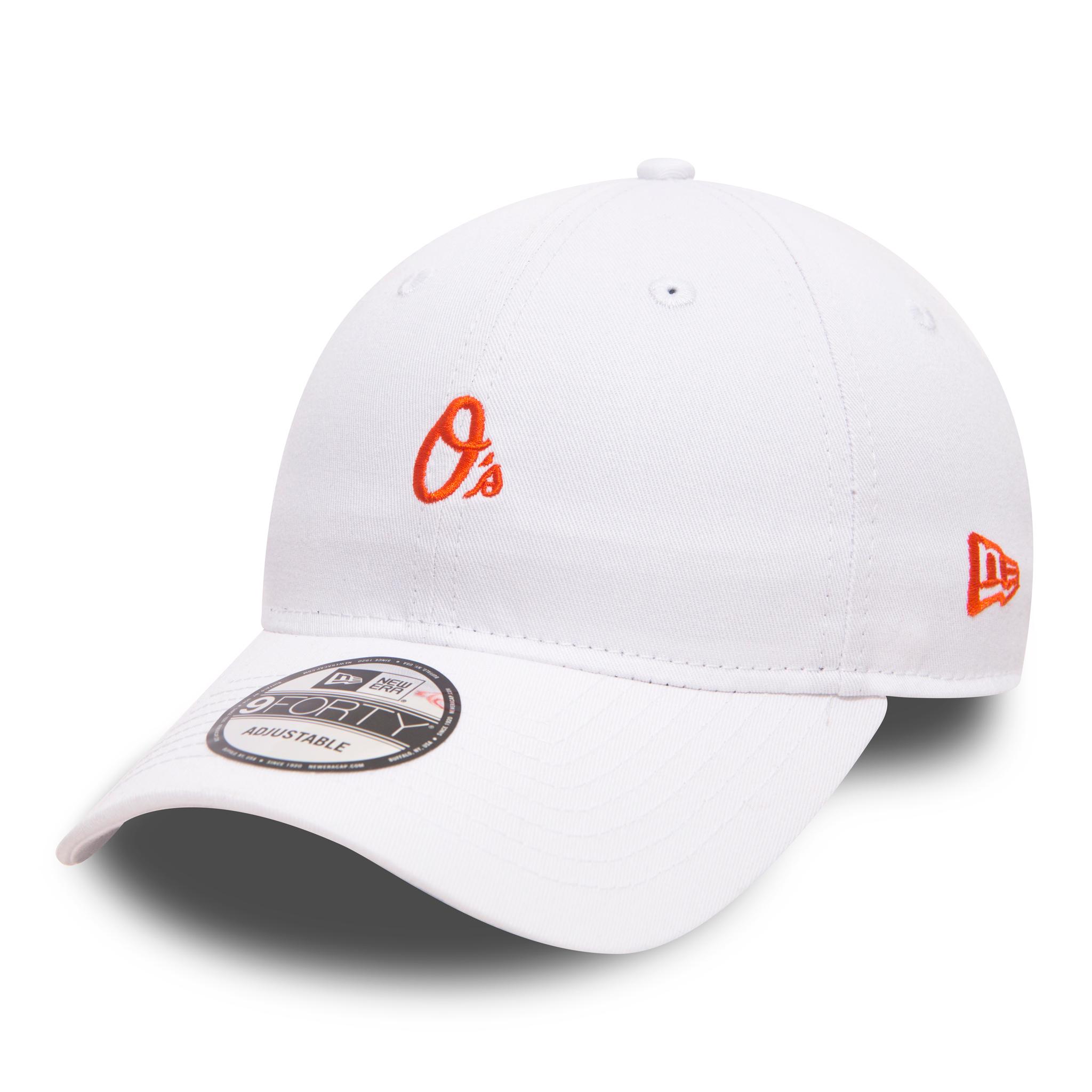Gorra regulable 9FORTY de New Era con logotipo pequeño de los Baltimore Orioles