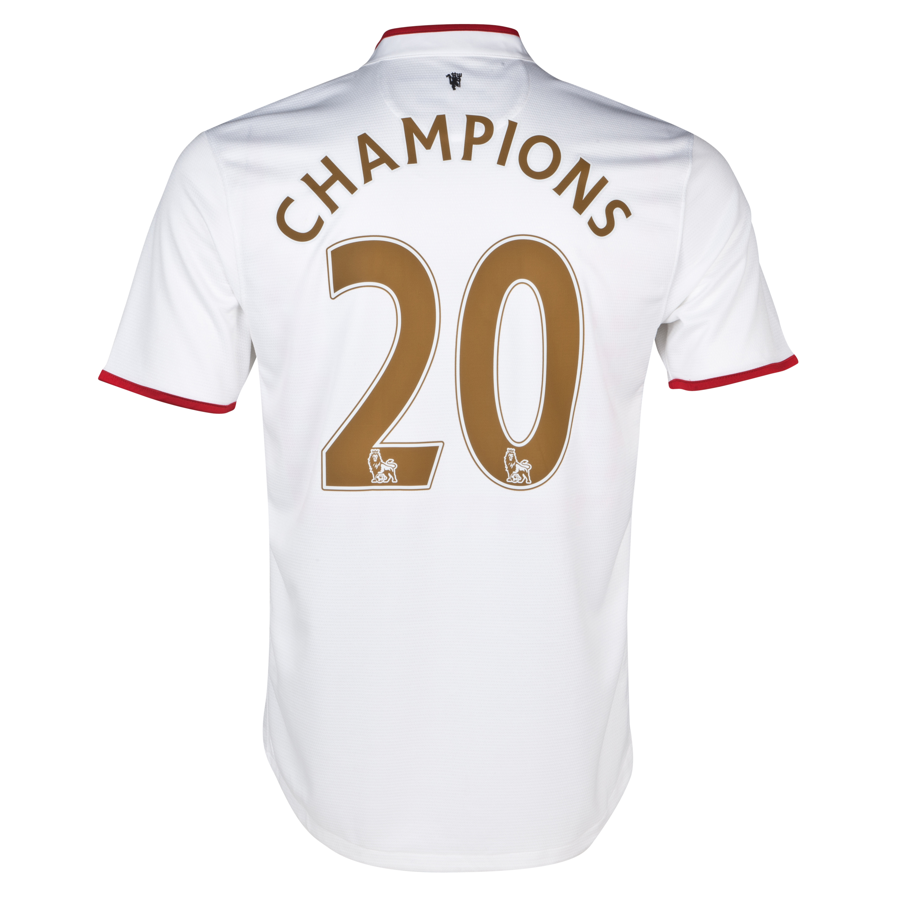 Manchester United Away Shirt 2012/13 with Champions 20 printing