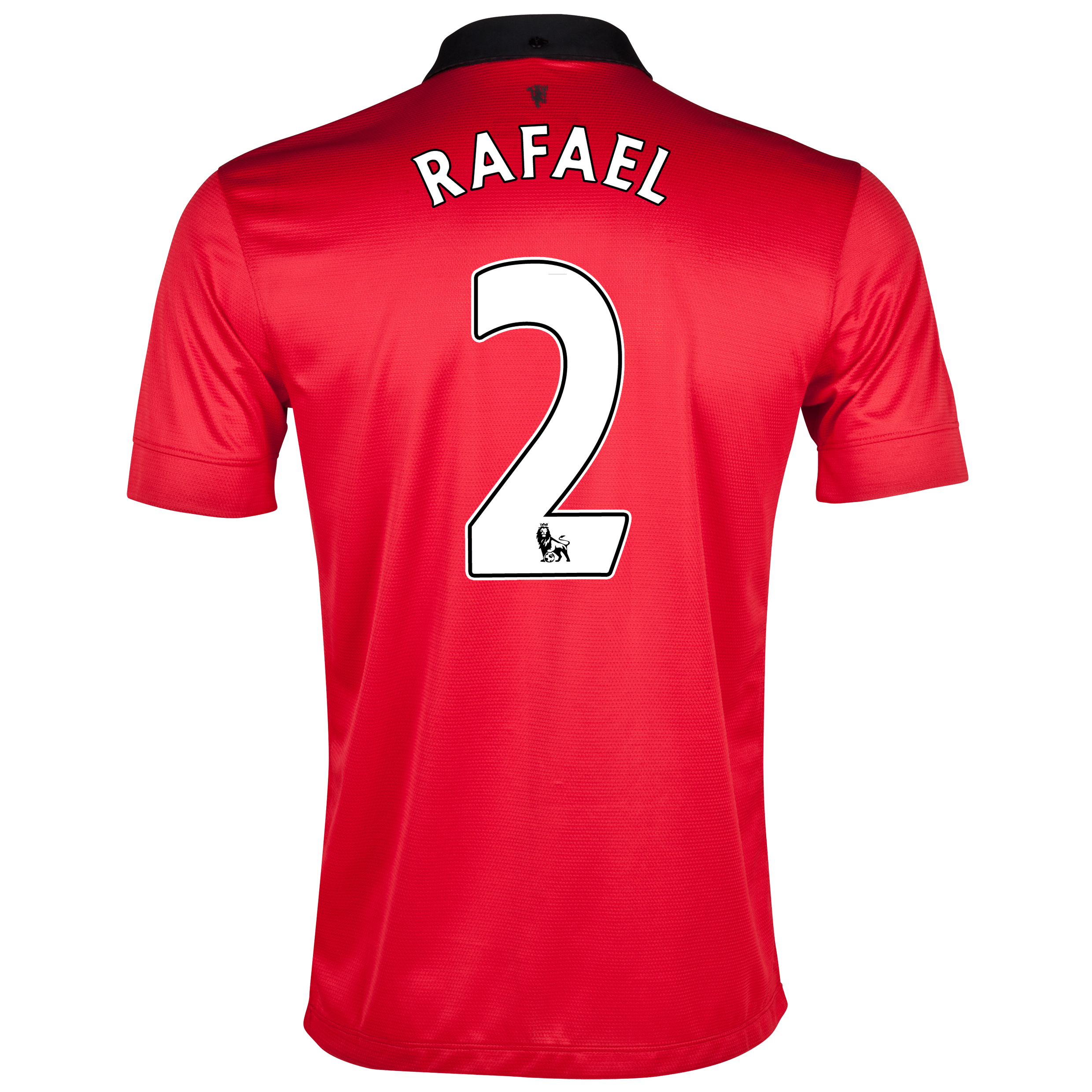 Manchester United Home Shirt 2013/14 with Rafael 2 printing