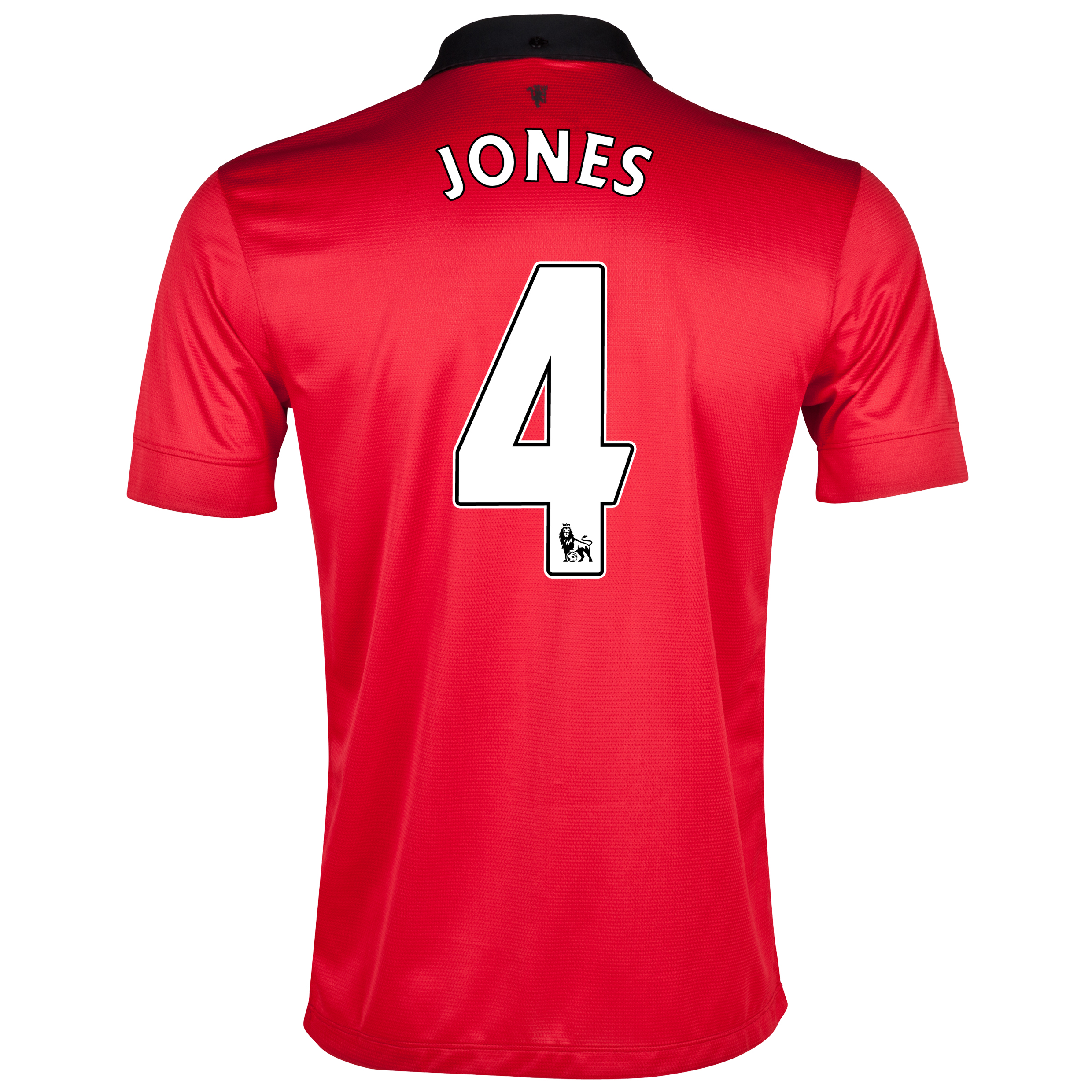 Manchester United Home Shirt 2013/14 with Jones 4 printing