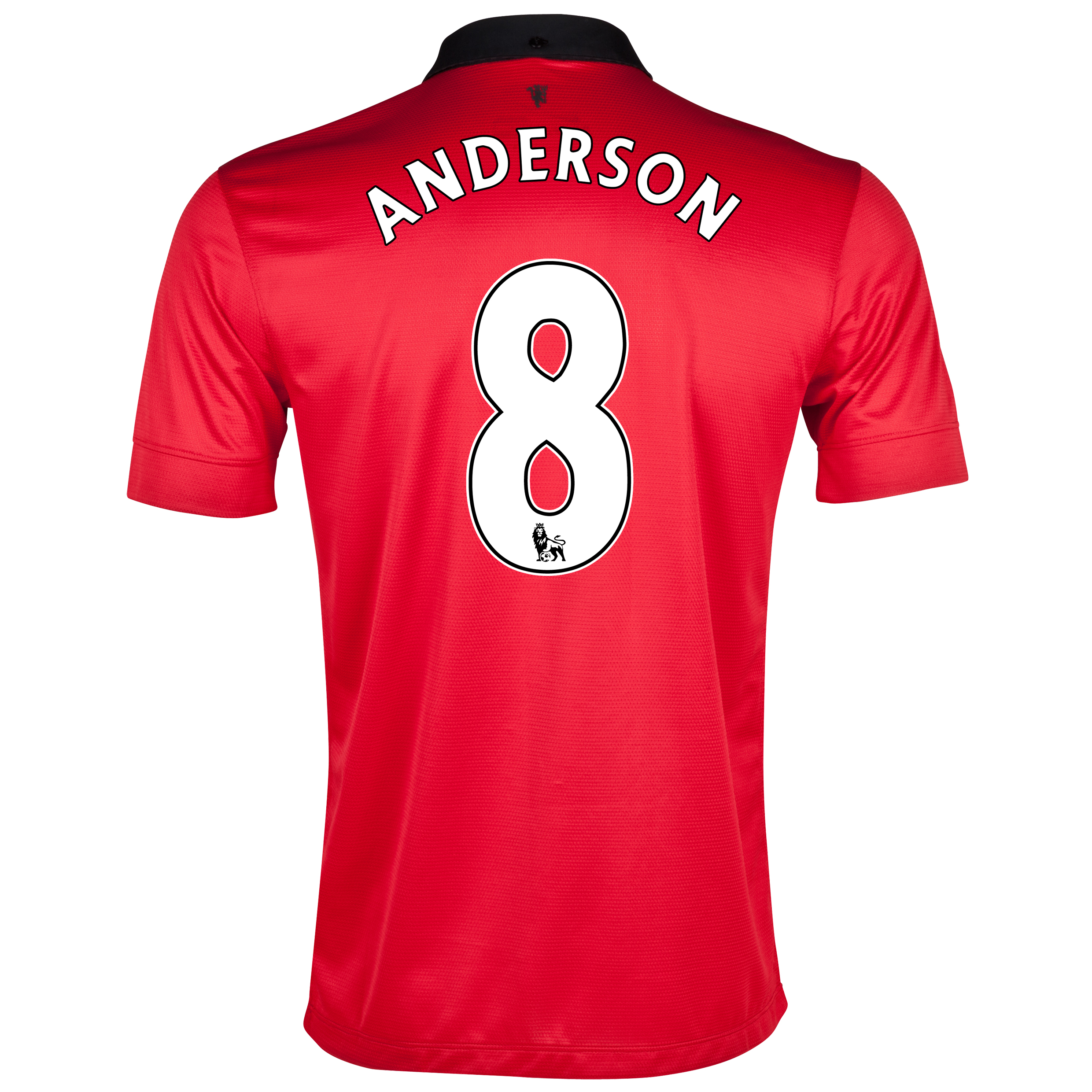 Manchester United Home Shirt 2013/14 with Anderson 8 printing