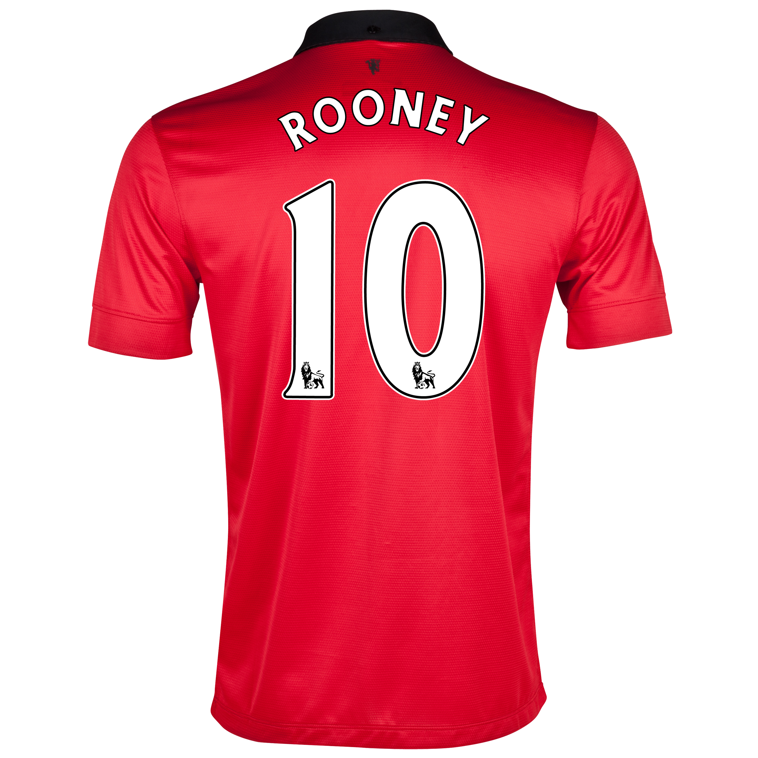 Manchester United Home Shirt 2013/14 with Rooney 10 printing