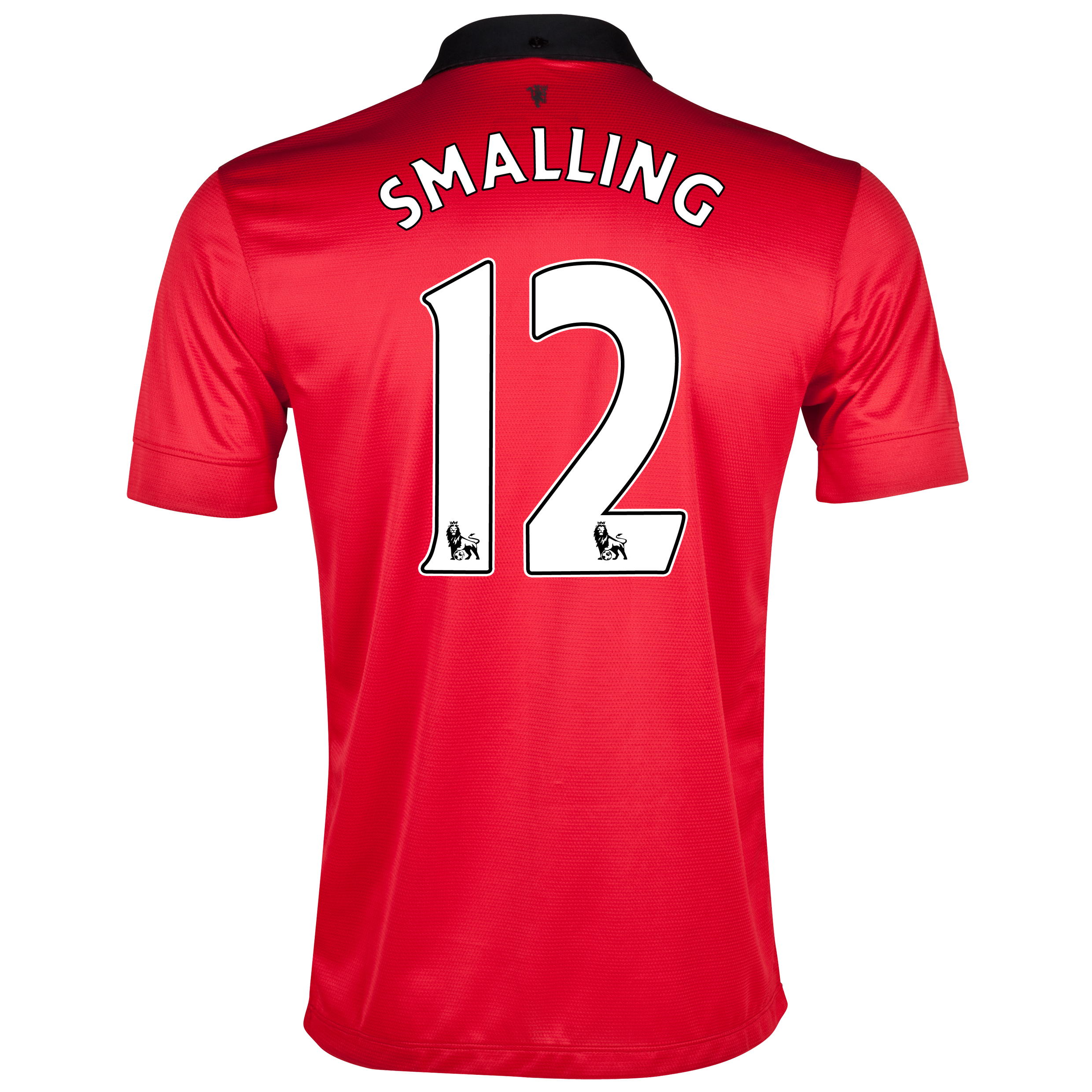 Manchester United Home Shirt 2013/14 with Smalling 12 printing
