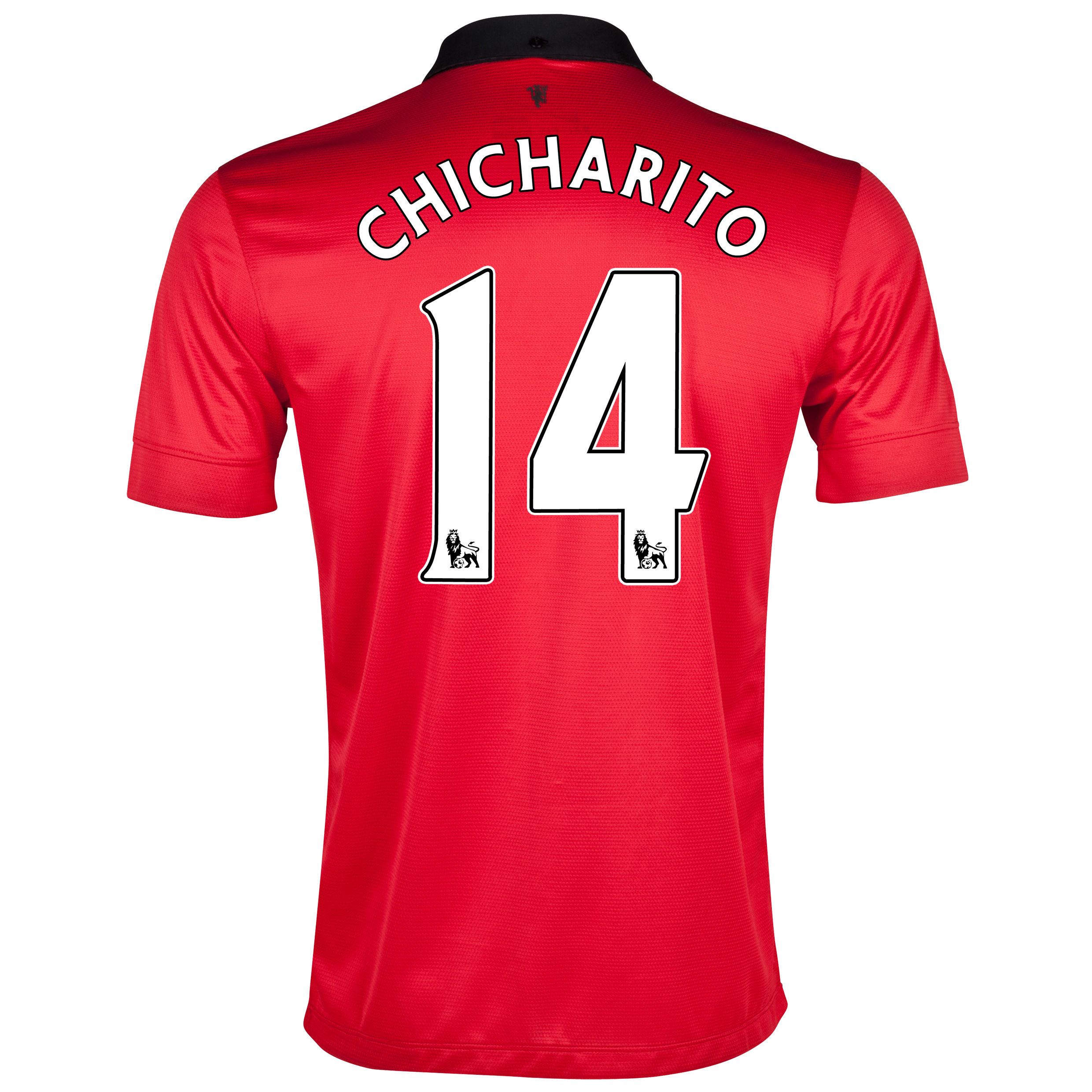 Manchester United Home Shirt 2013/14 with Chicharito 14 printing