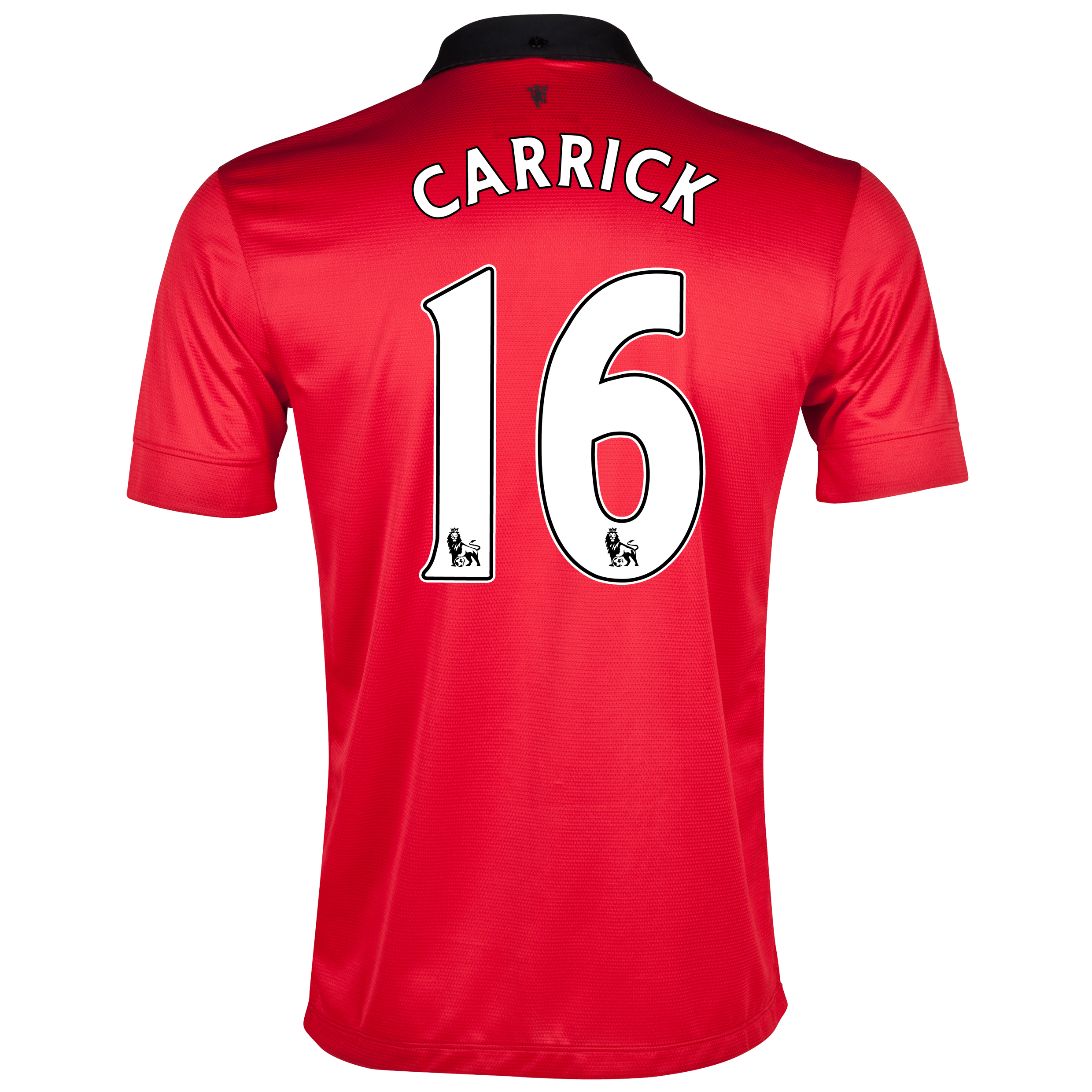 Manchester United Home Shirt 2013/14 with Carrick 16 printing