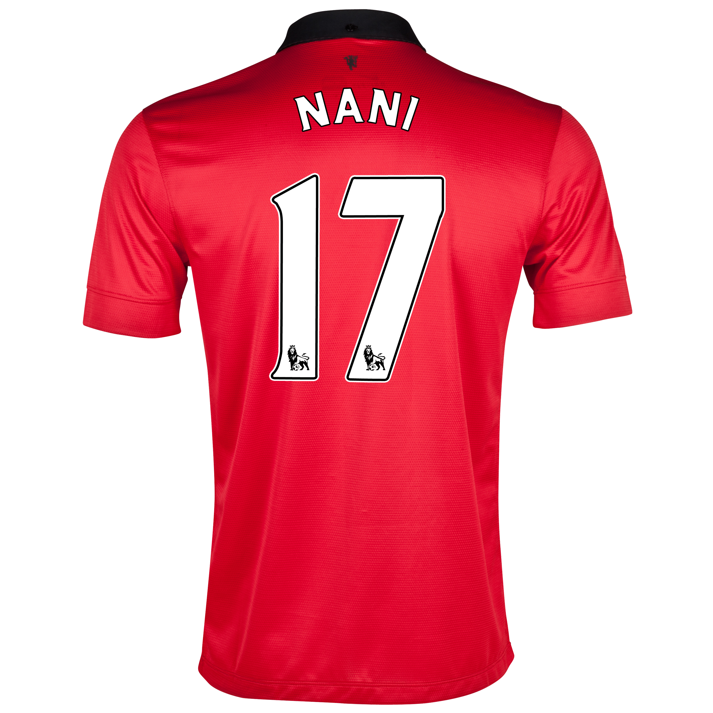 Manchester United Home Shirt 2013/14 with Nani 17 printing