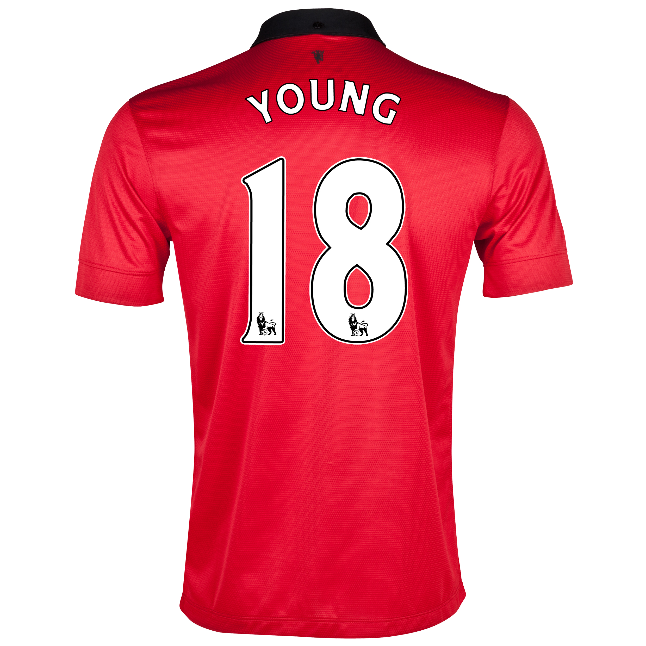 Manchester United Home Shirt 2013/14 with Young 18 printing