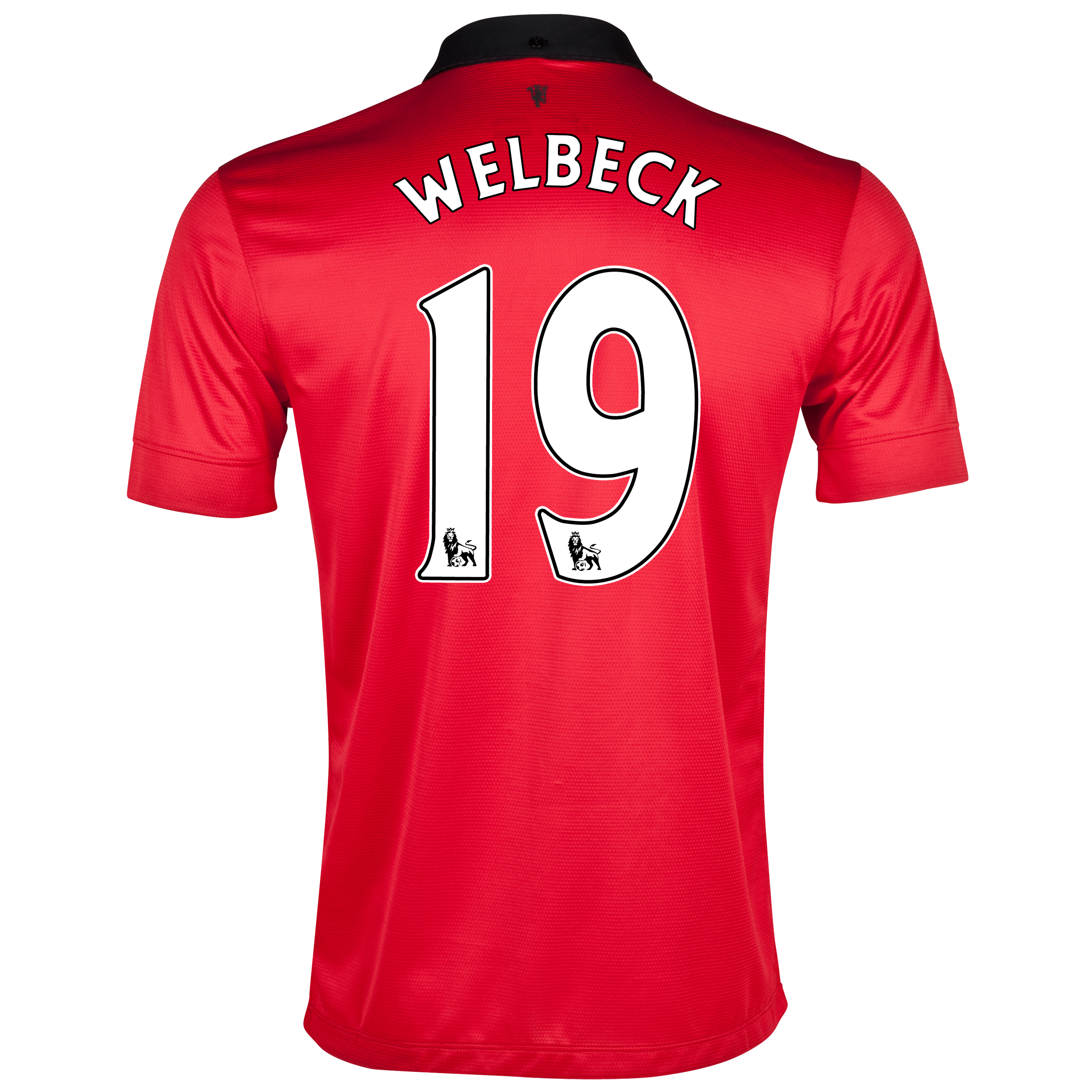 Manchester United Home Shirt 2013/14 with Welbeck 19 printing