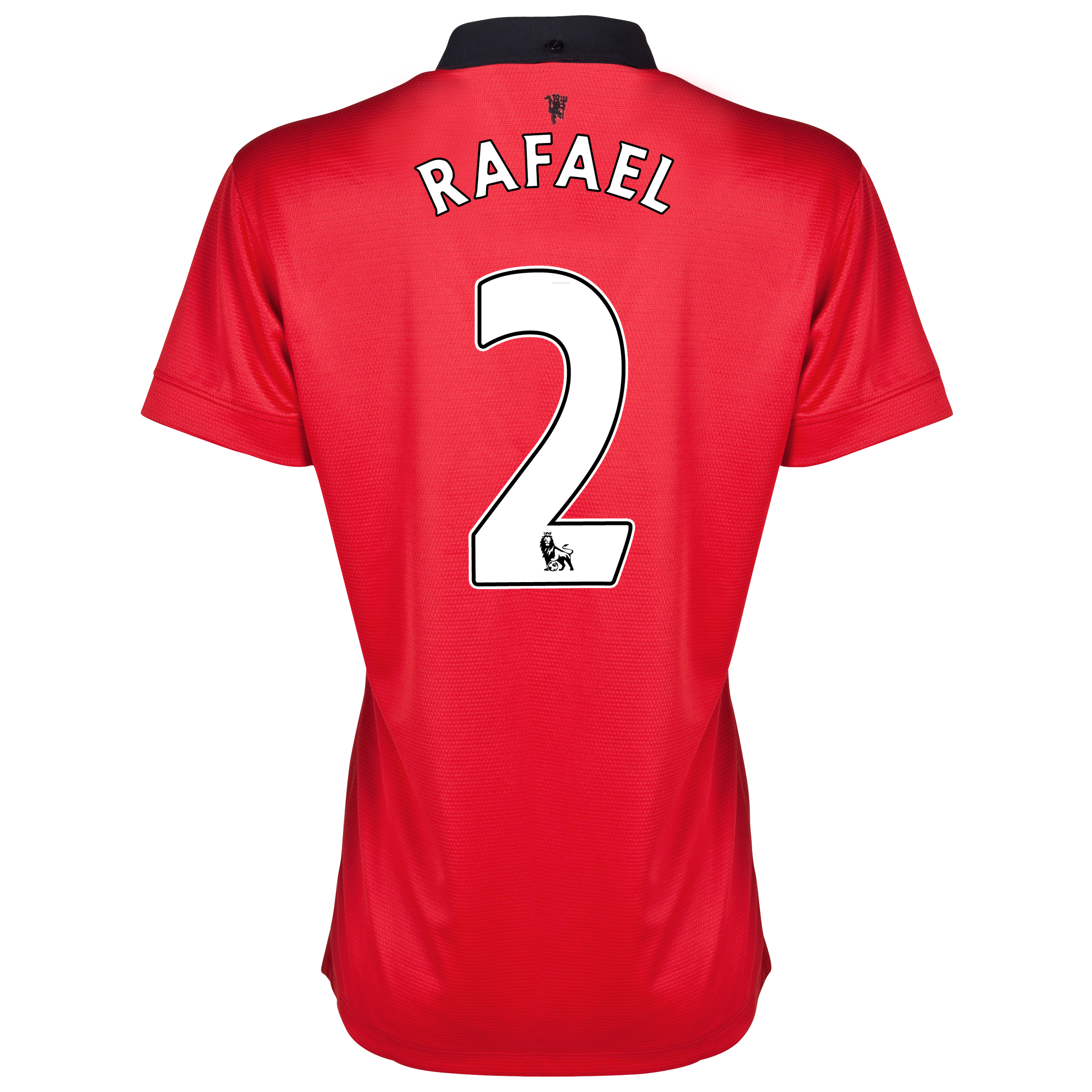 Manchester United Home Shirt 2013/14 - Womens with Rafael 2 printing