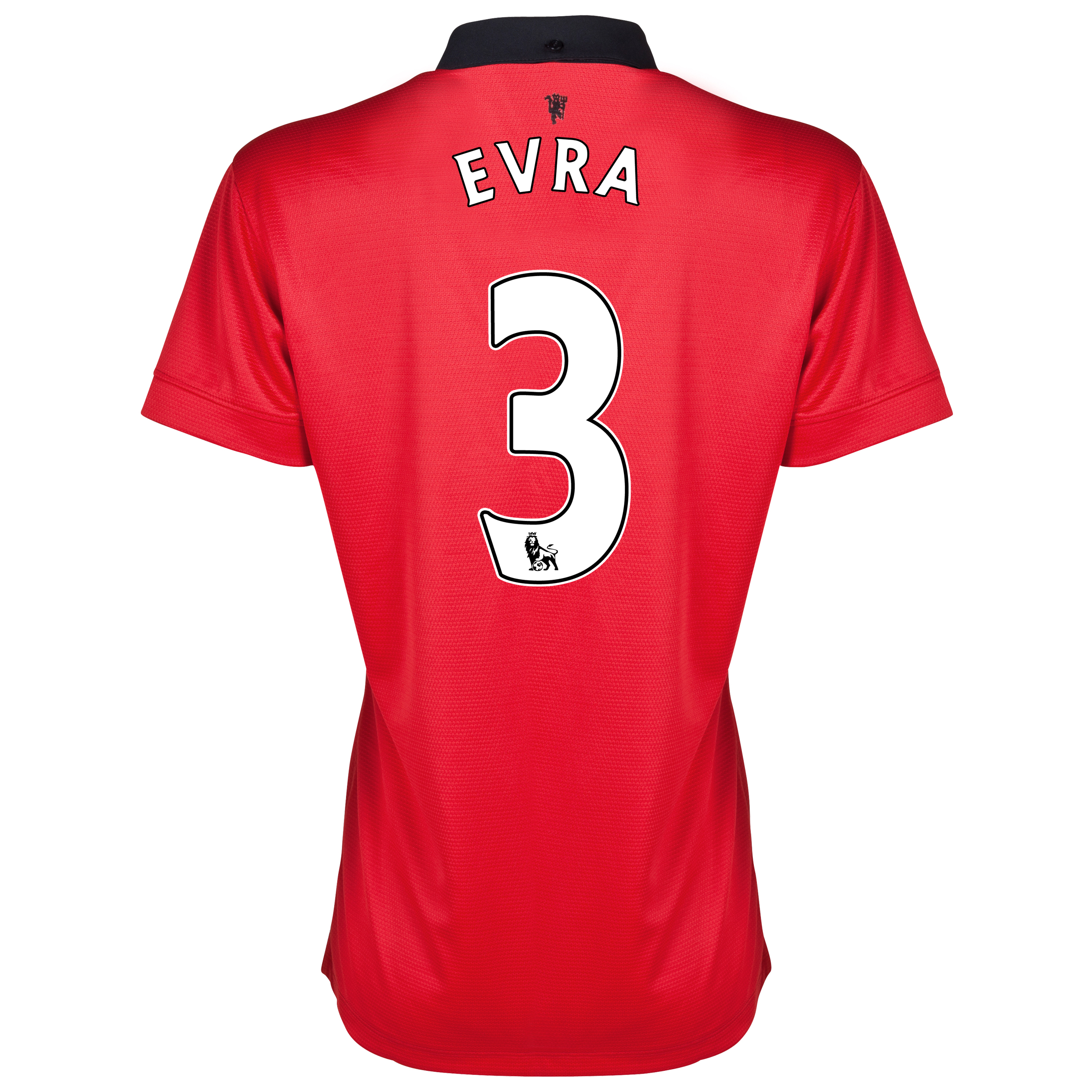 Manchester United Home Shirt 2013/14 - Womens with Evra 3 printing