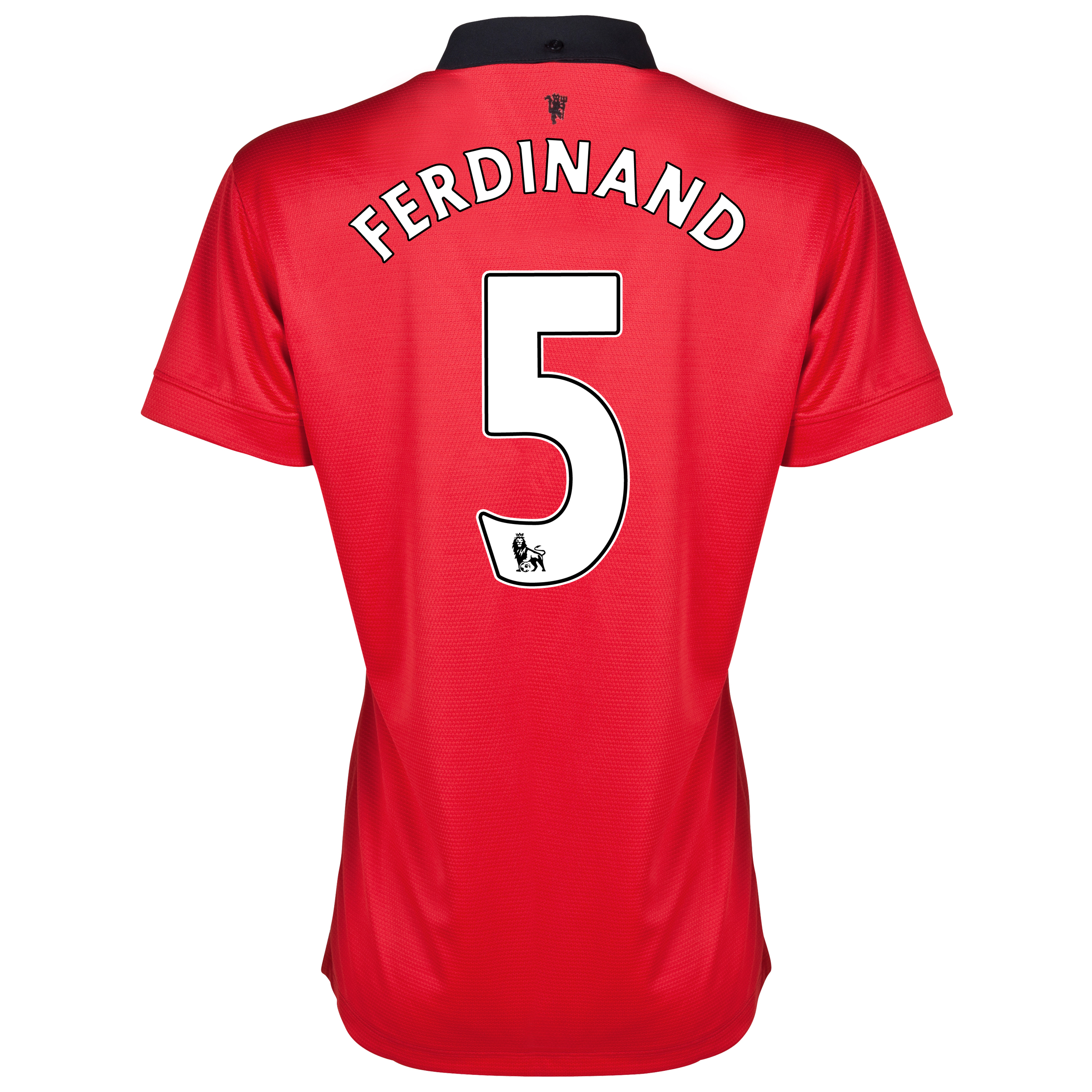 Manchester United Home Shirt 2013/14 - Womens with Ferdinand 5 printing