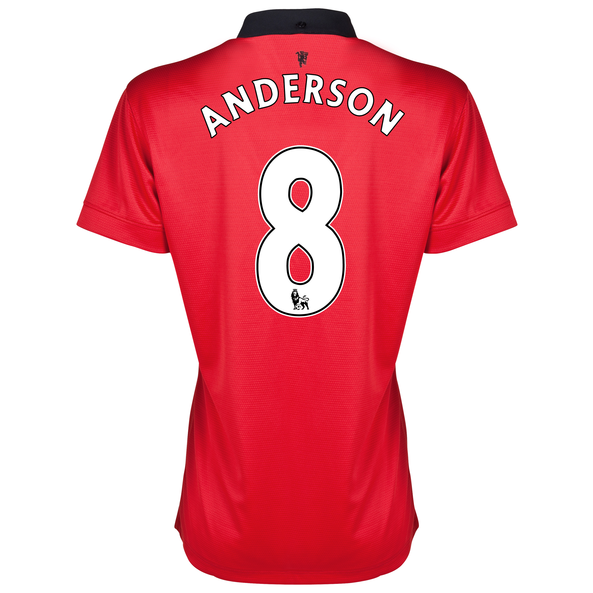 Manchester United Home Shirt 2013/14 - Womens with Anderson 8 printing
