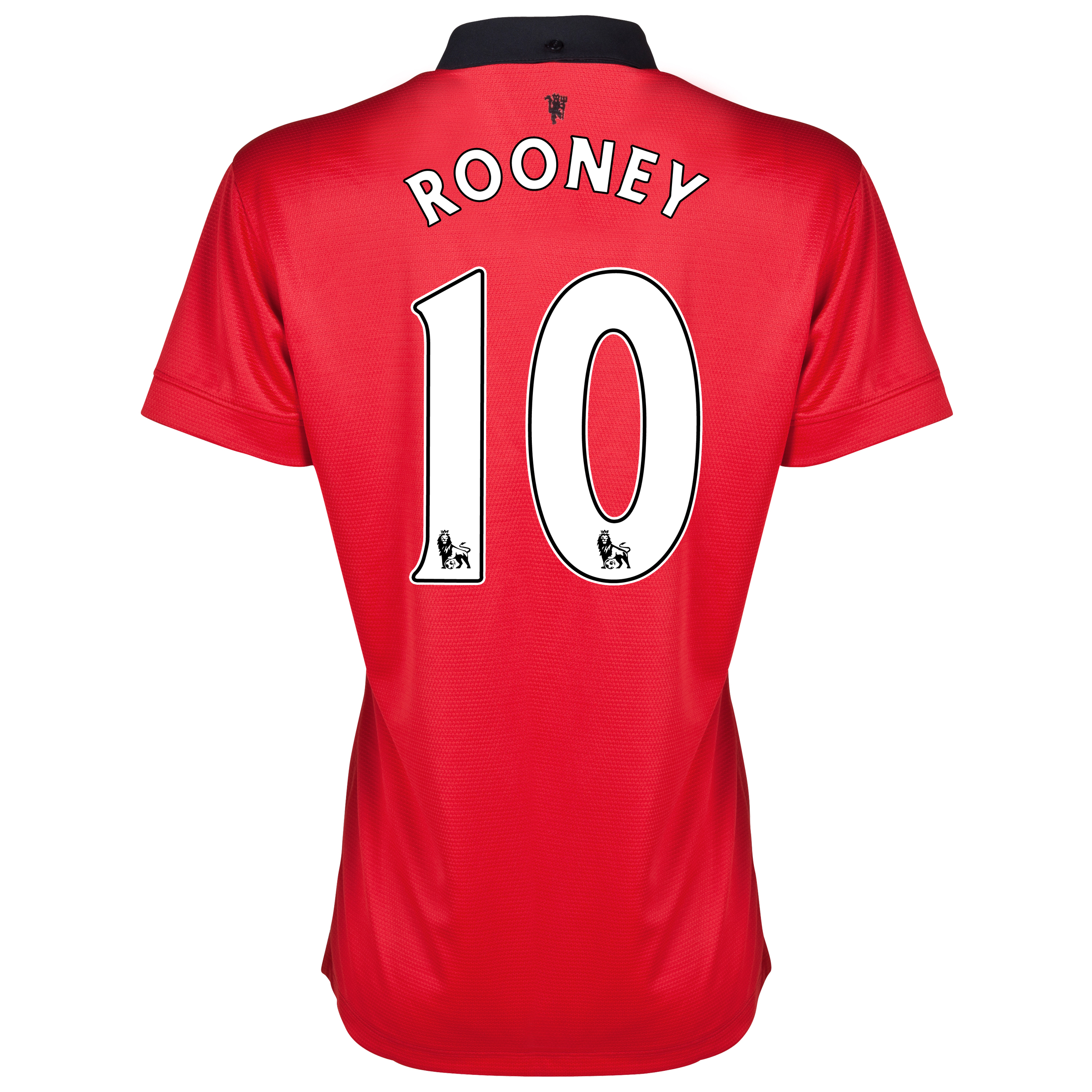 Manchester United Home Shirt 2013/14 - Womens with Rooney 10 printing
