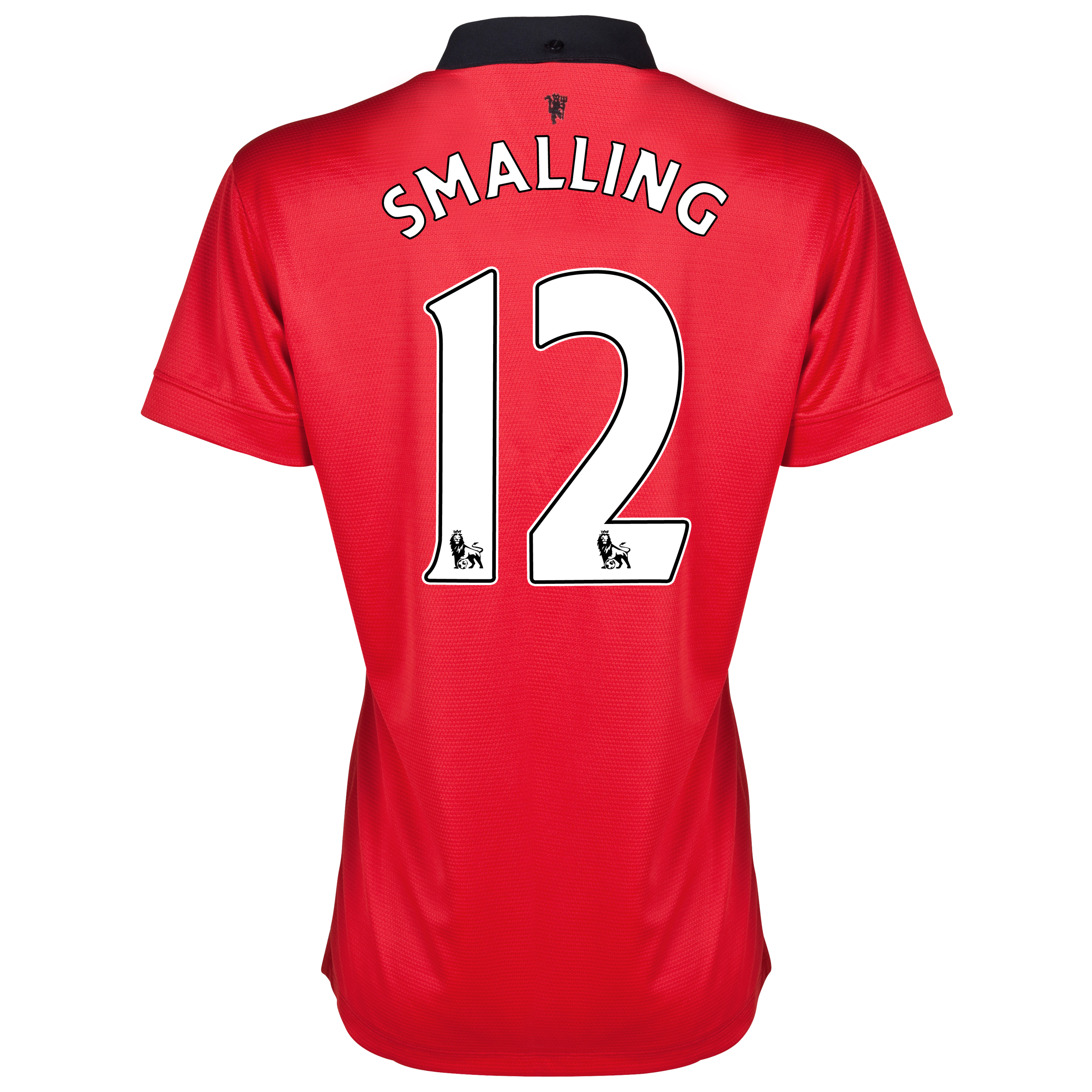 Manchester United Home Shirt 2013/14 - Womens with Smalling 12 printing