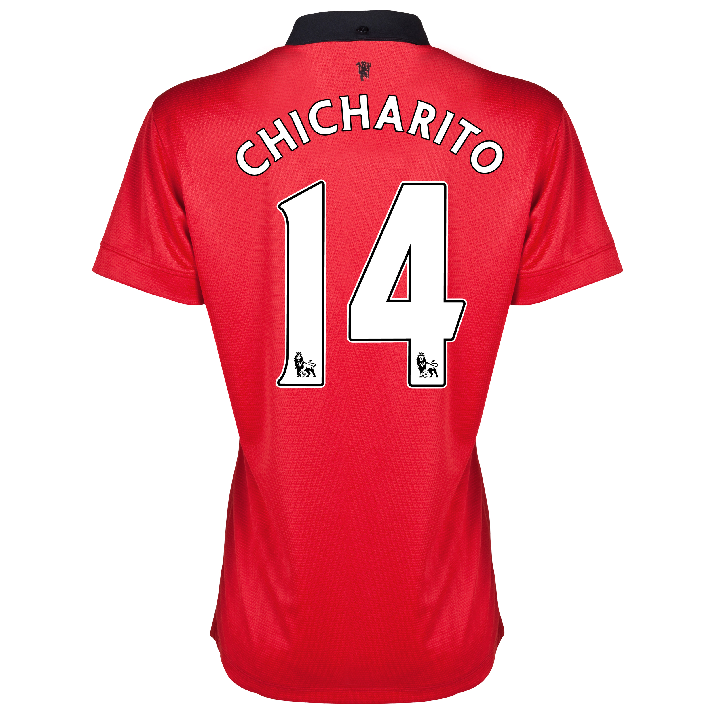 Manchester United Home Shirt 2013/14 - Womens with Chicharito 14 printing