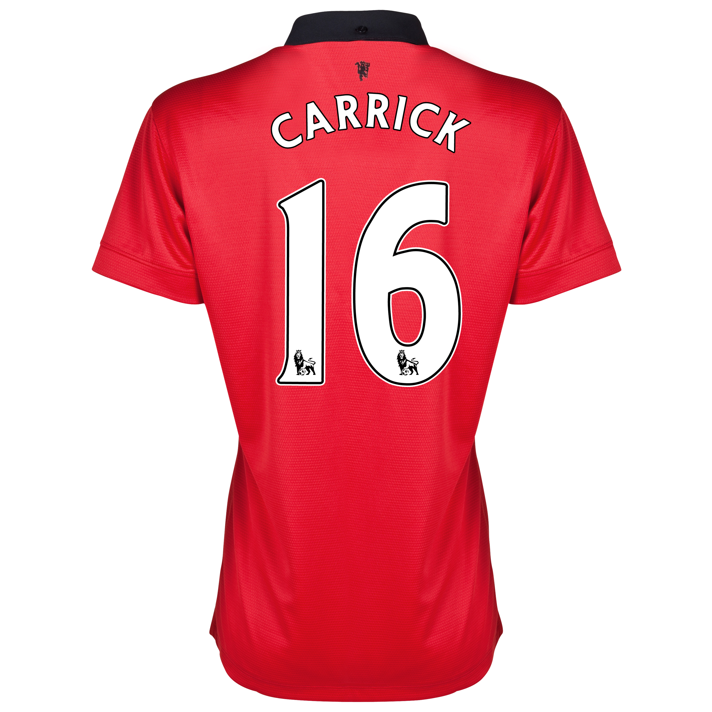 Manchester United Home Shirt 2013/14 - Womens with Carrick 16 printing