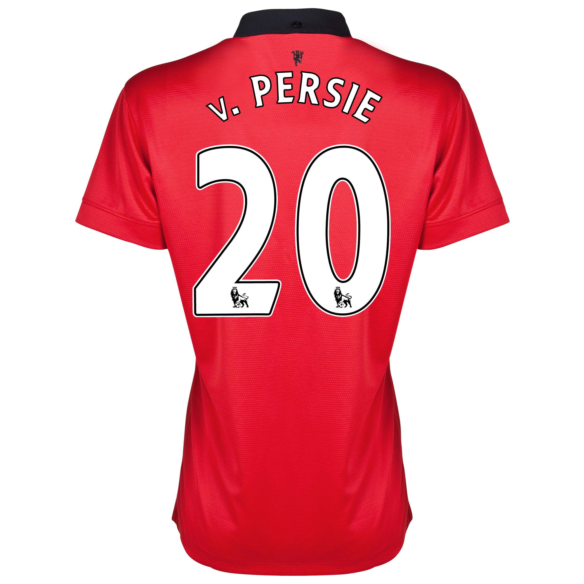 Manchester United Home Shirt 2013/14 - Womens with v.Persie 20 printing
