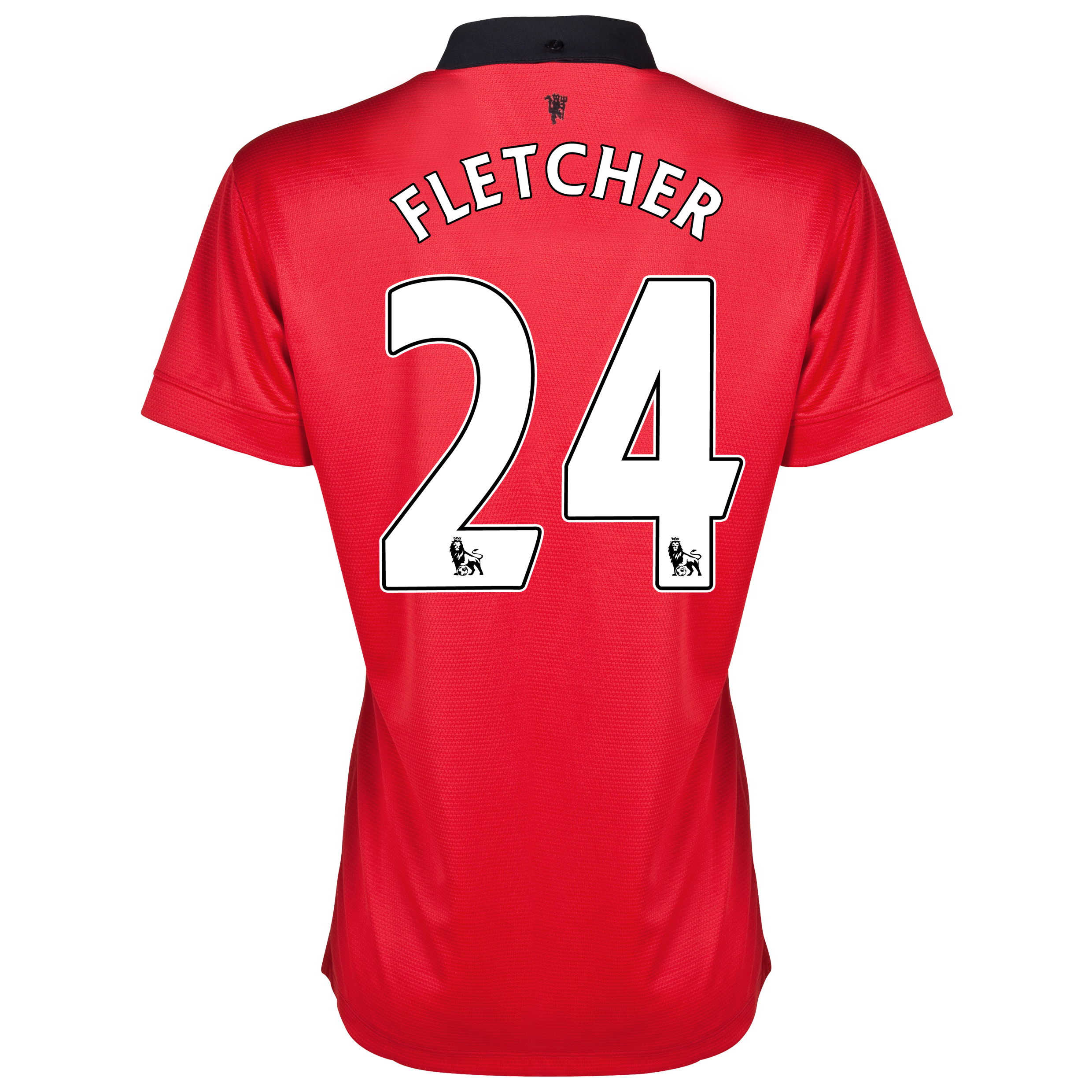 Manchester United Home Shirt 2013/14 - Womens with Fletcher 24 printing