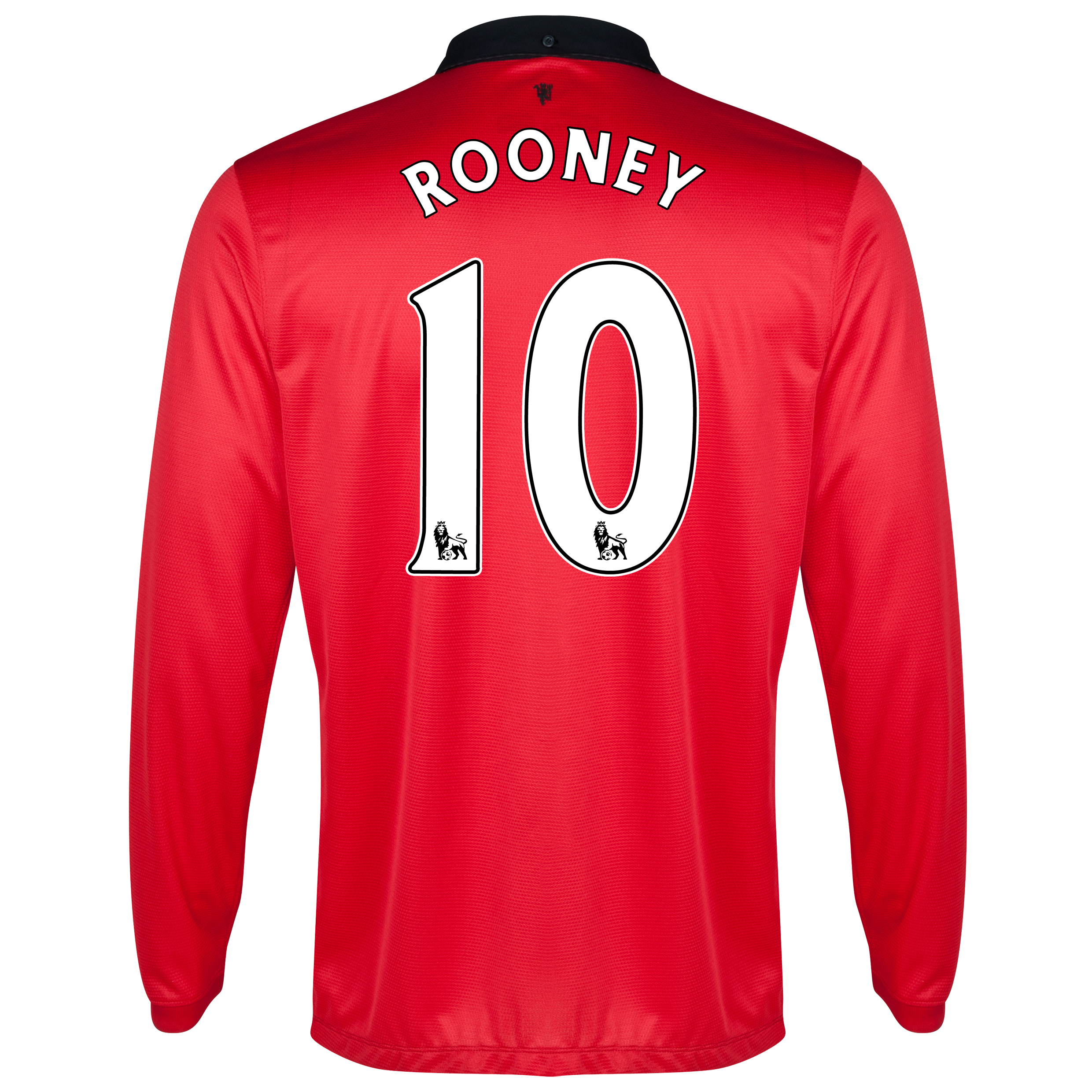 Manchester United Home Shirt 2013/14 - Long Sleeved with Rooney 10 printing