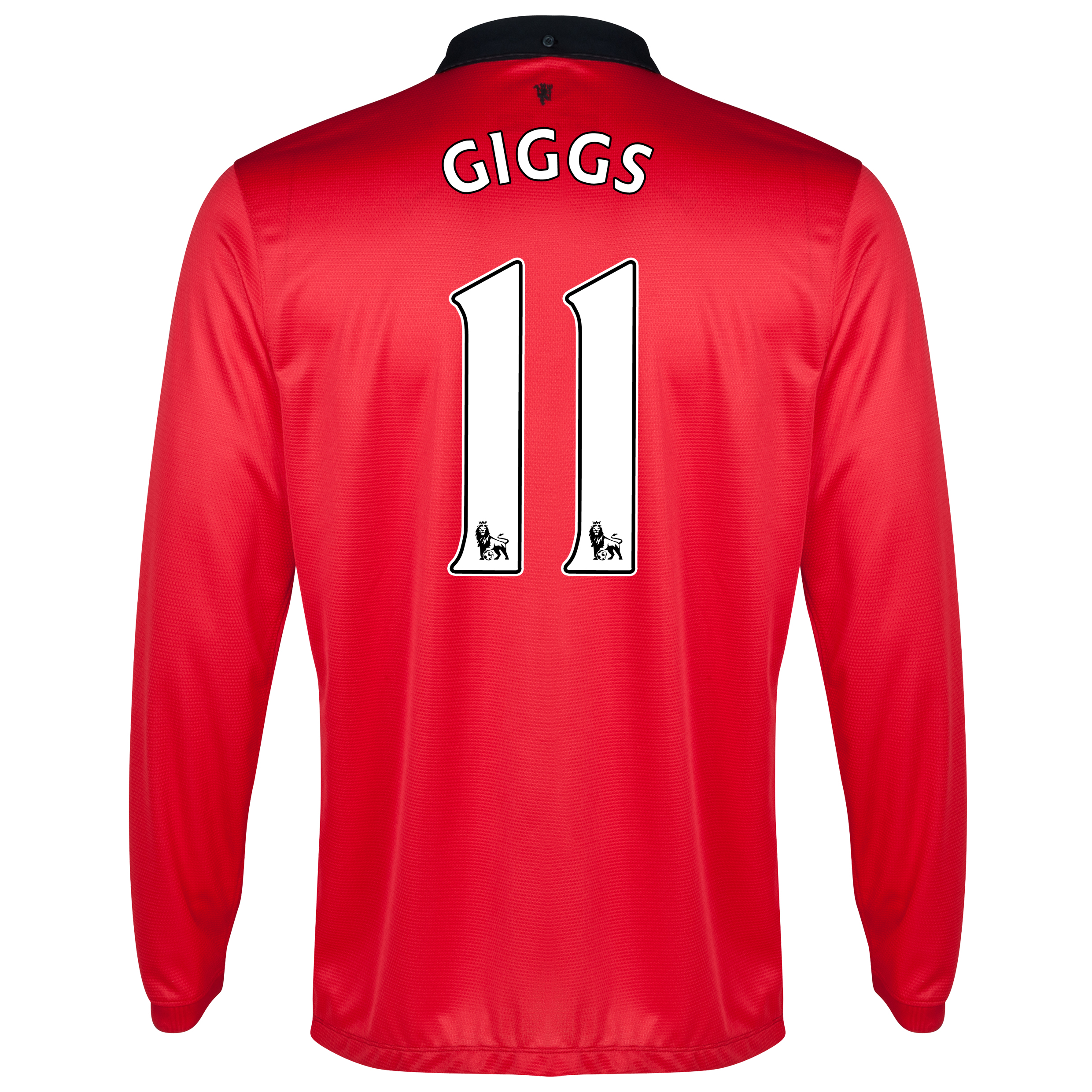 Manchester United Home Shirt 2013/14 - Long Sleeved with Giggs 11 printing