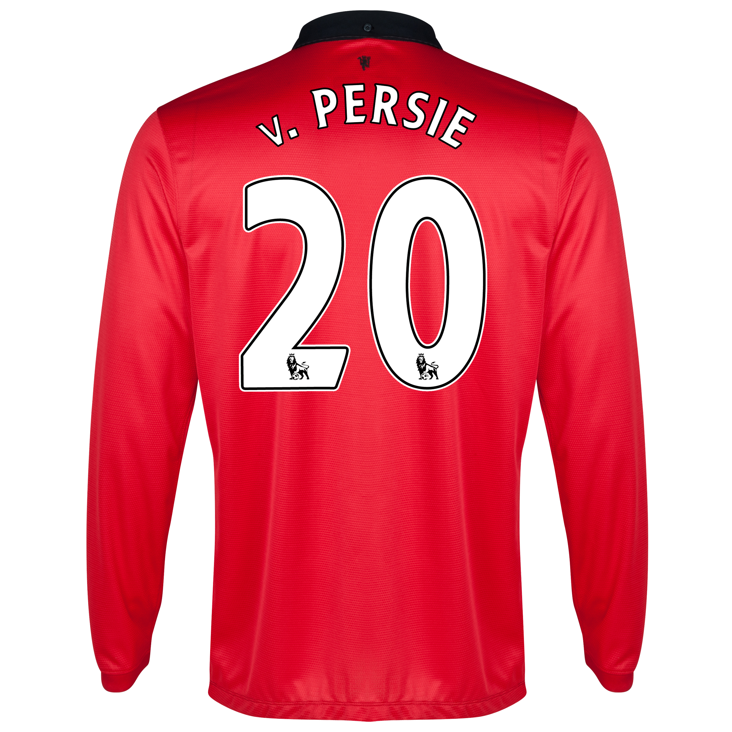 Manchester United Home Shirt 2013/14 - Long Sleeved with v.Persie 20 printing