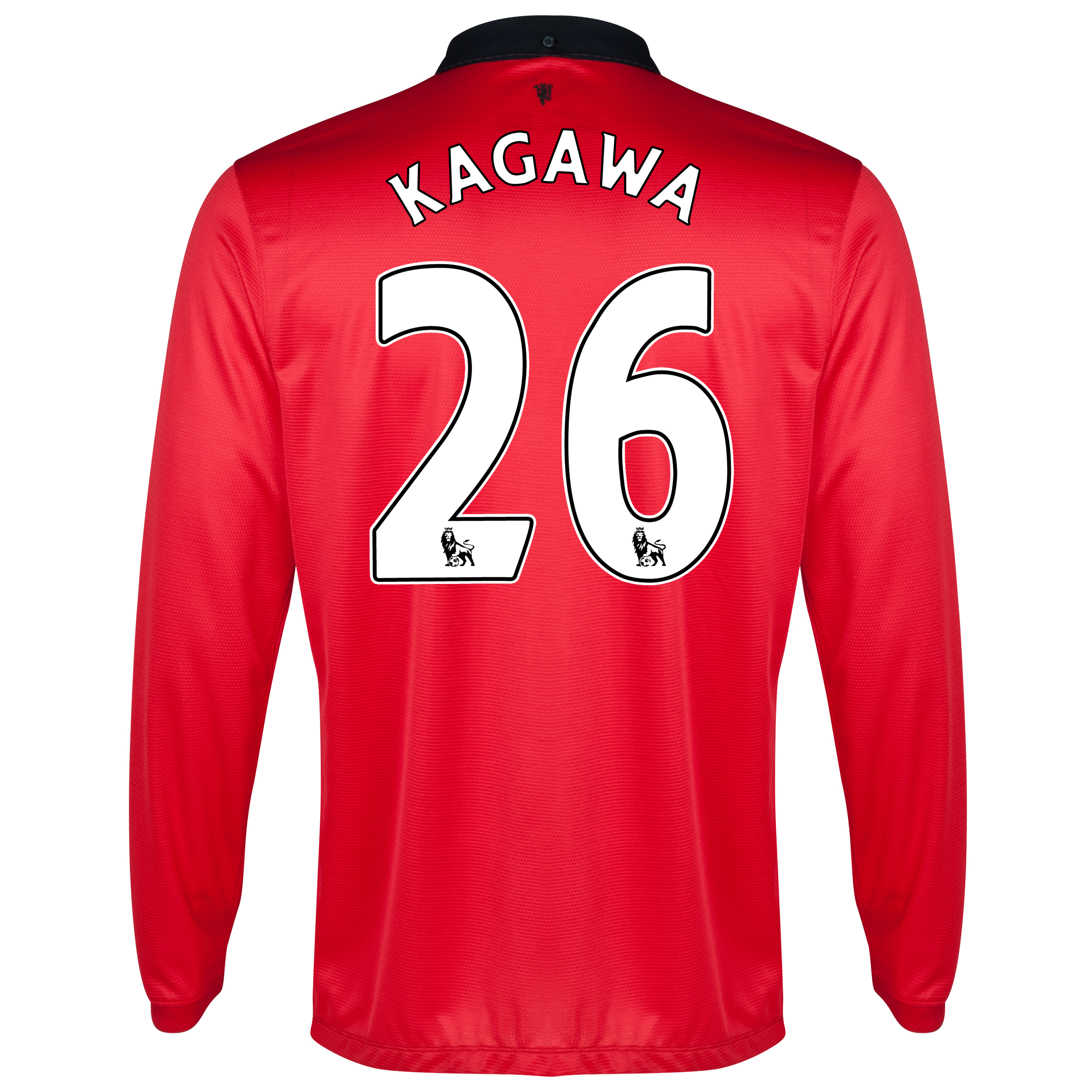 Manchester United Home Shirt 2013/14 - Long Sleeved with Kagawa 26 printing