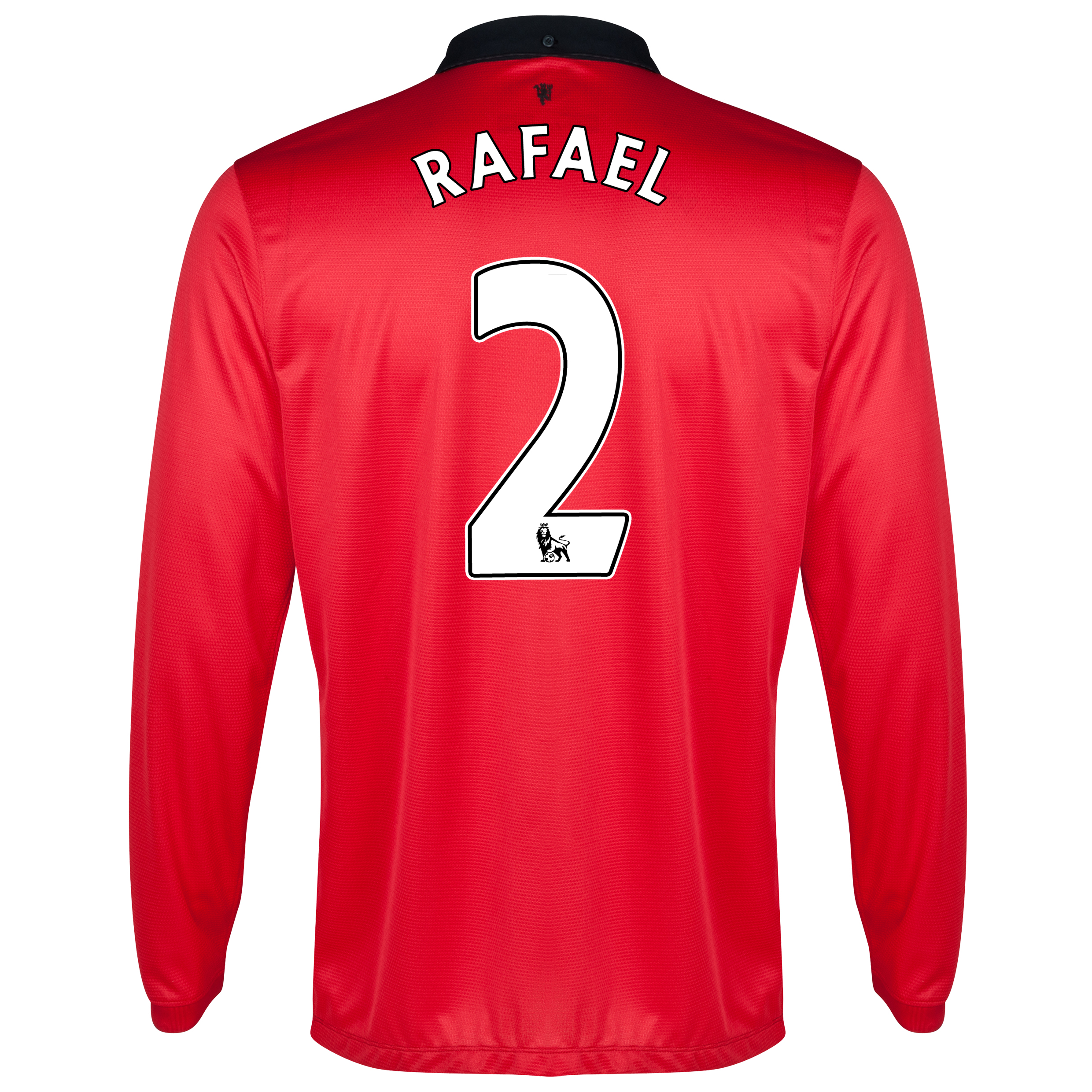 Manchester United Home Shirt 2013/14 - Long Sleeved - Kids with Rafael 2 printing